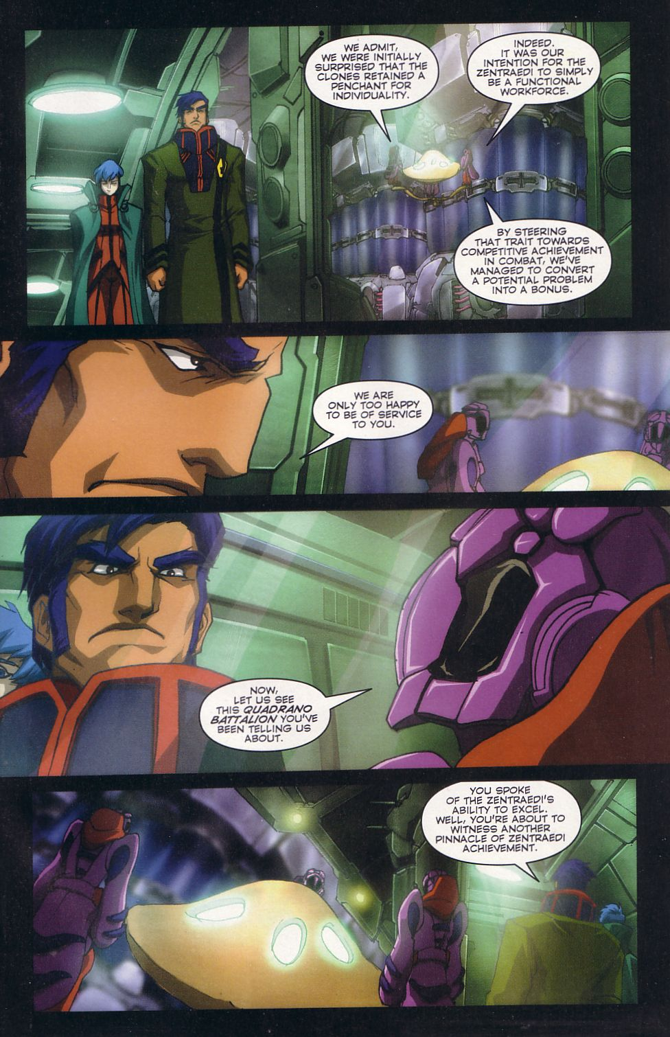 Read online Robotech: Love and War comic -  Issue #2 - 5