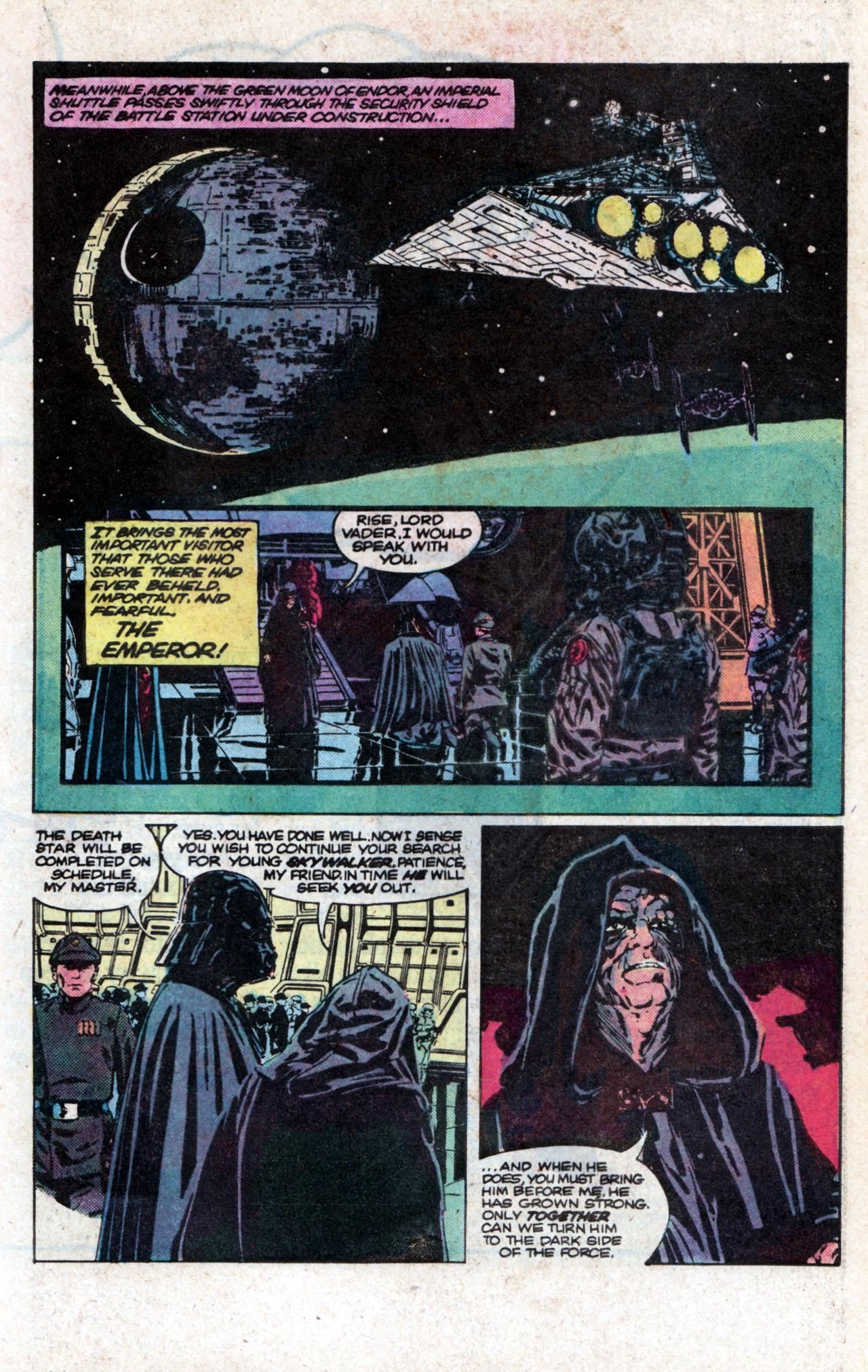 Read online Star Wars: Return of the Jedi comic -  Issue #2 - 17