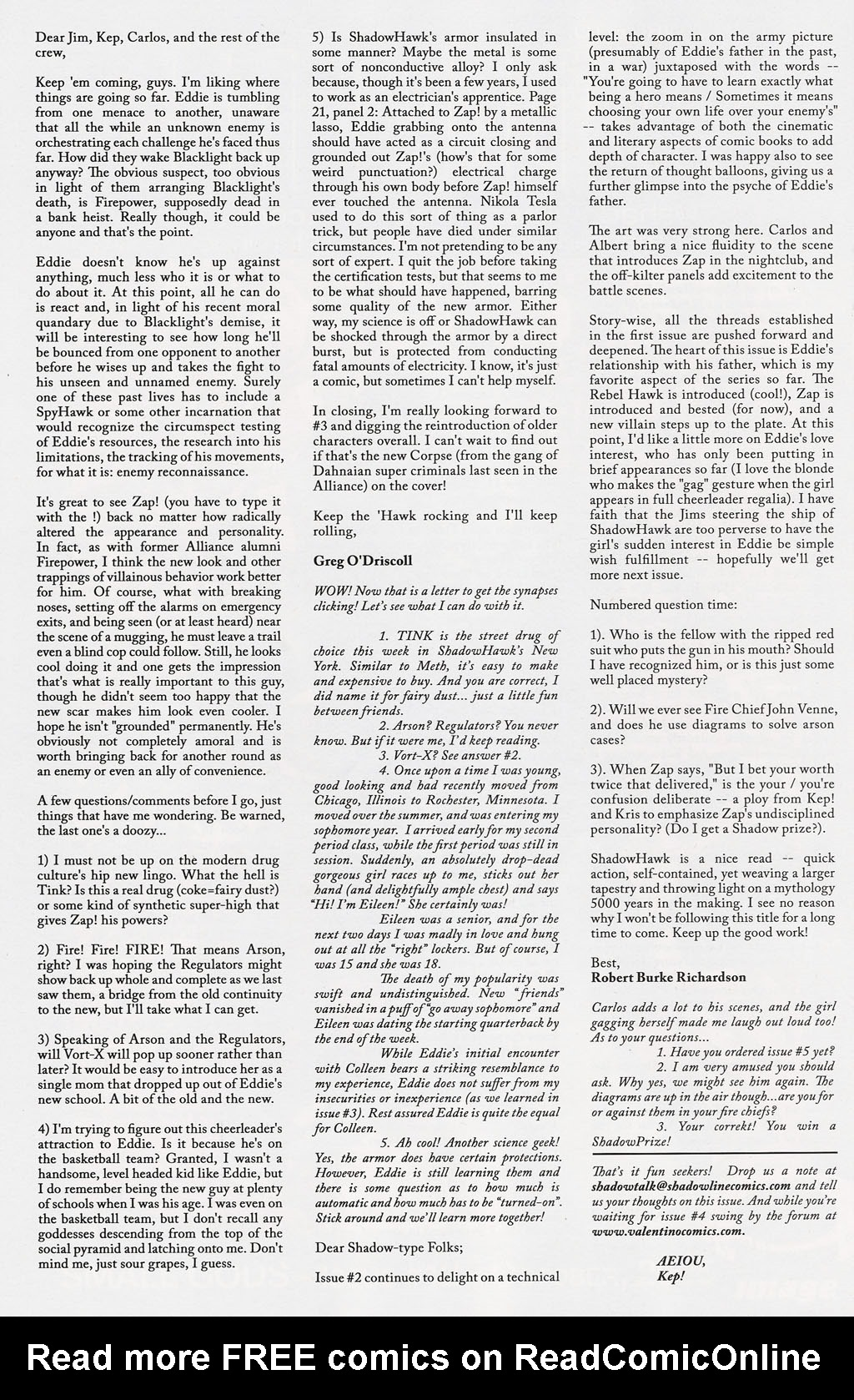 Read online ShadowHawk (2005) comic -  Issue #4 - 27