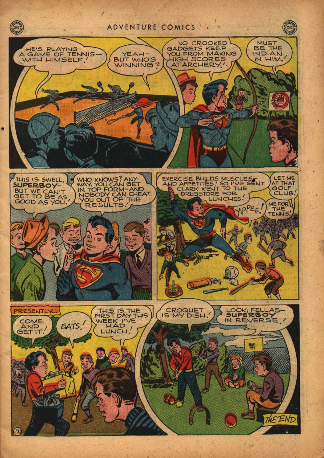 Read online Adventure Comics (1938) comic -  Issue #109 - 9
