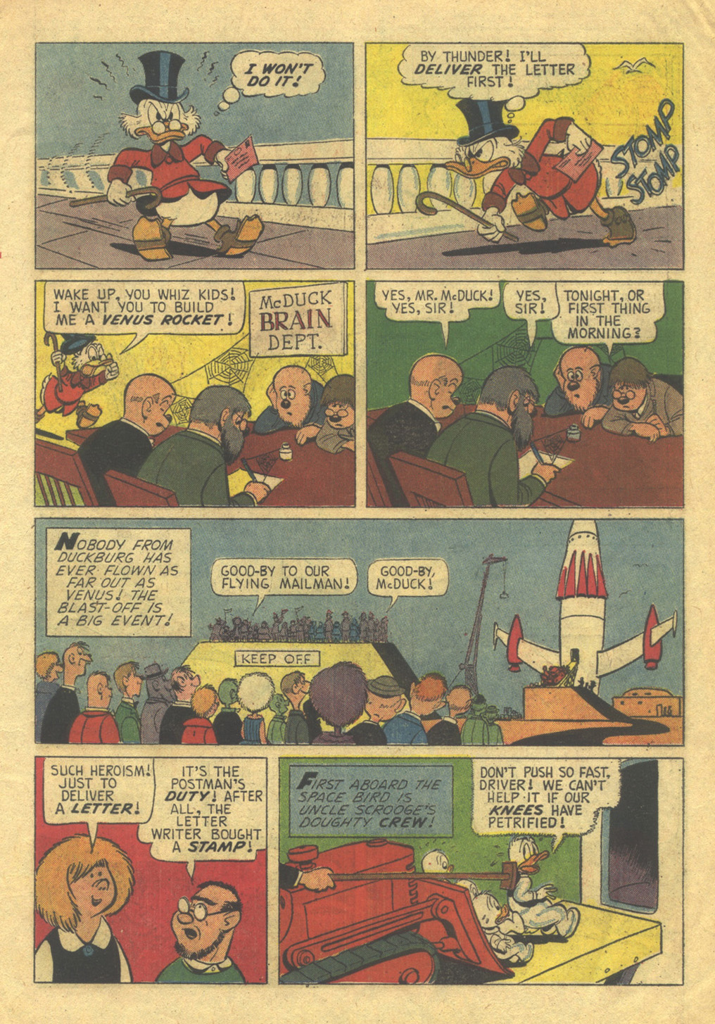 Read online Uncle Scrooge (1953) comic -  Issue #53 - 7