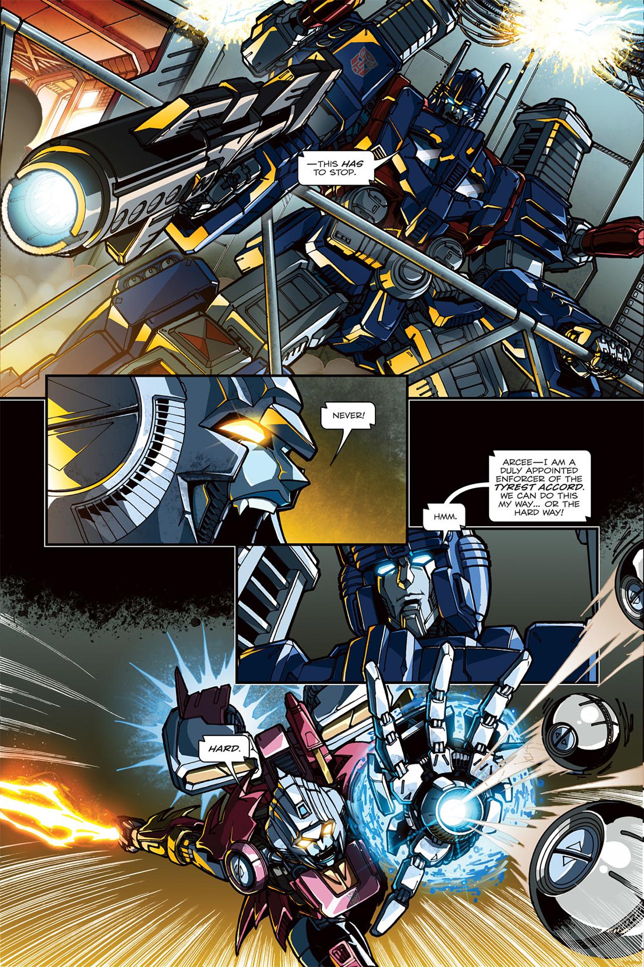 Read online Transformers: Spotlight - Arcee comic -  Issue # Full - 6
