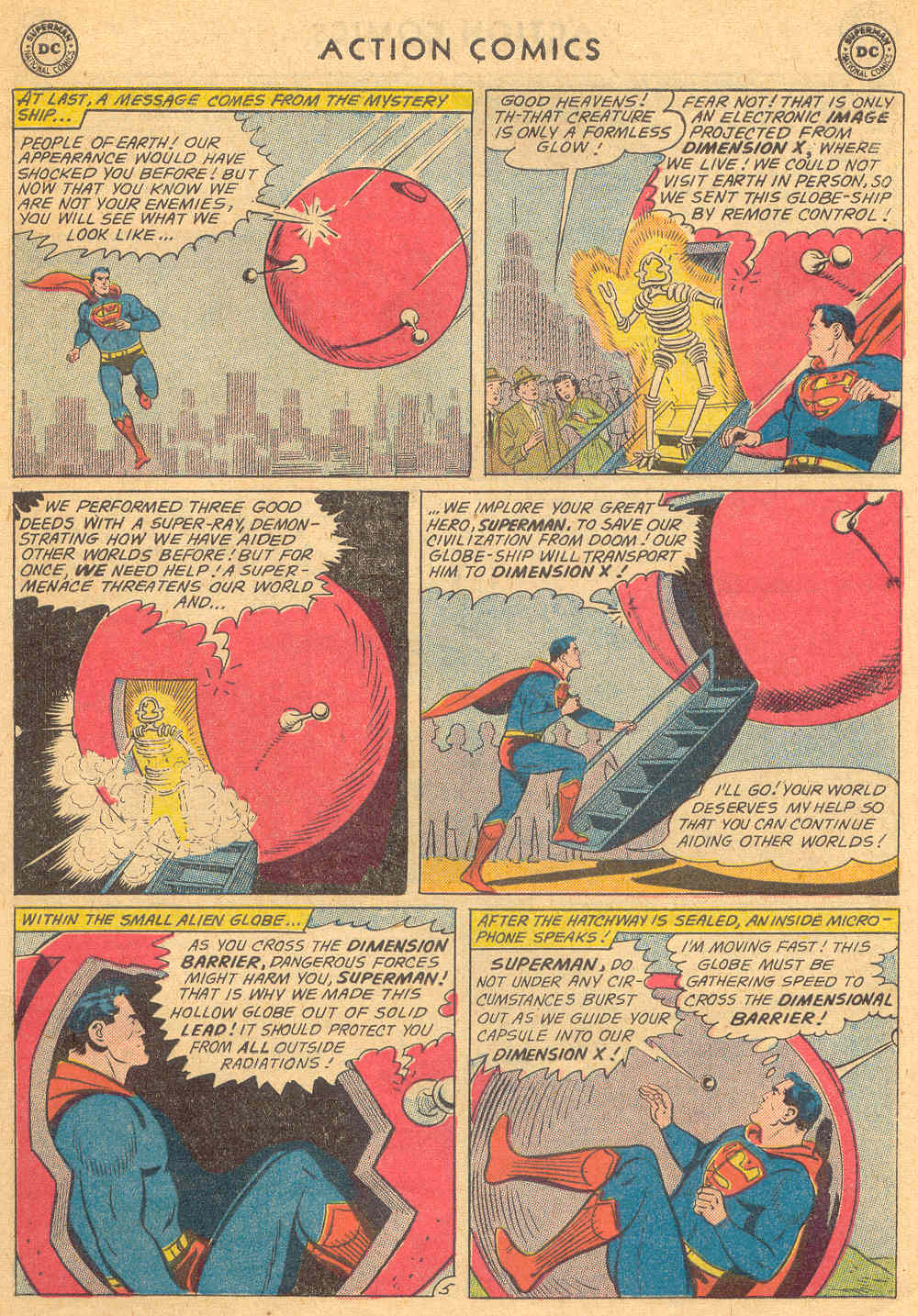 Read online Action Comics (1938) comic -  Issue #271 - 7
