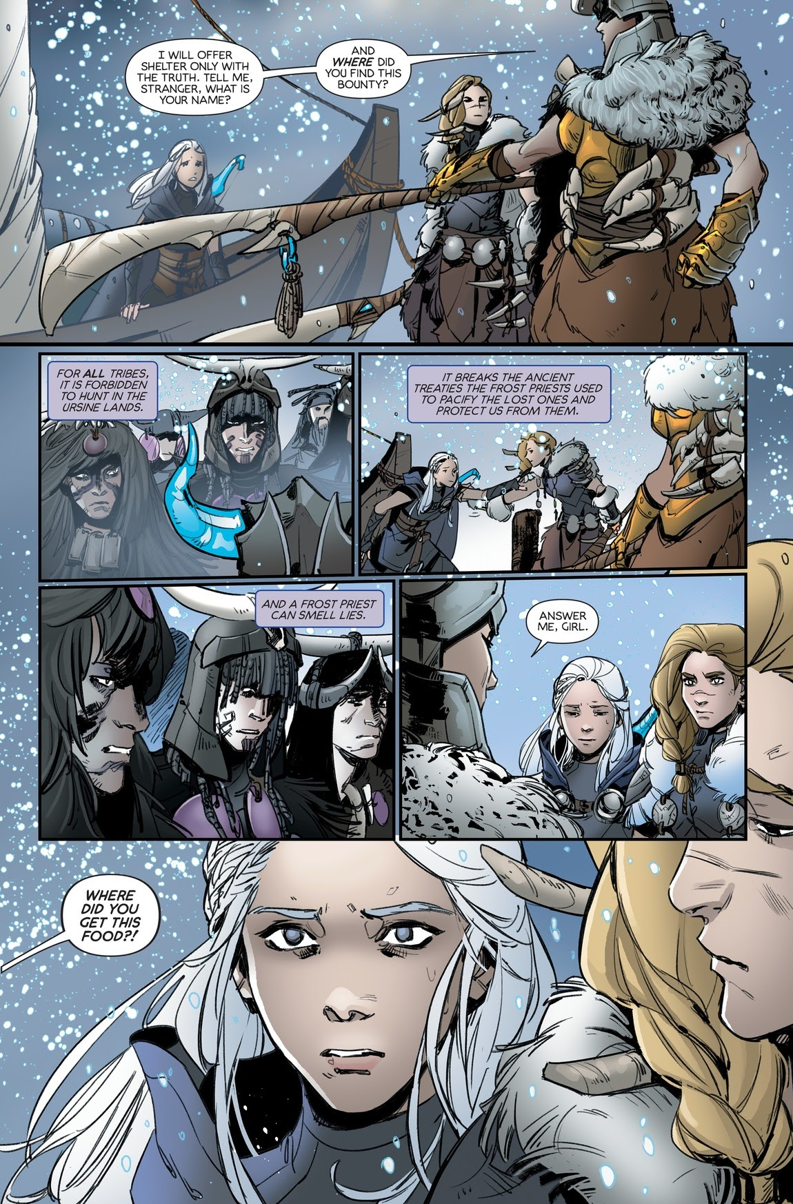 Ashe Lol Porno Comics league of legends ashe warmother special edition issue 3