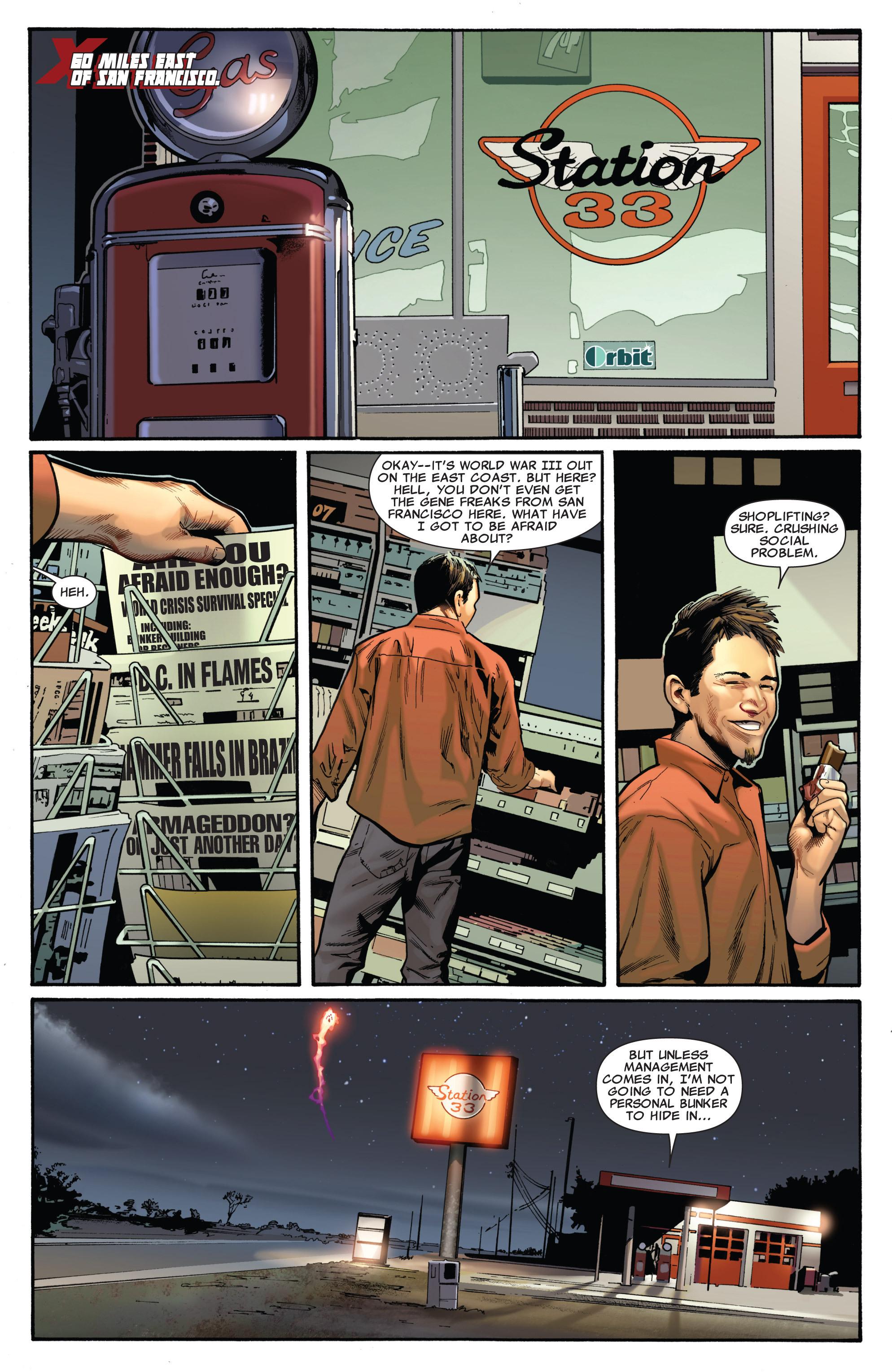 Read online Uncanny X-Men (1963) comic -  Issue #540 - 3