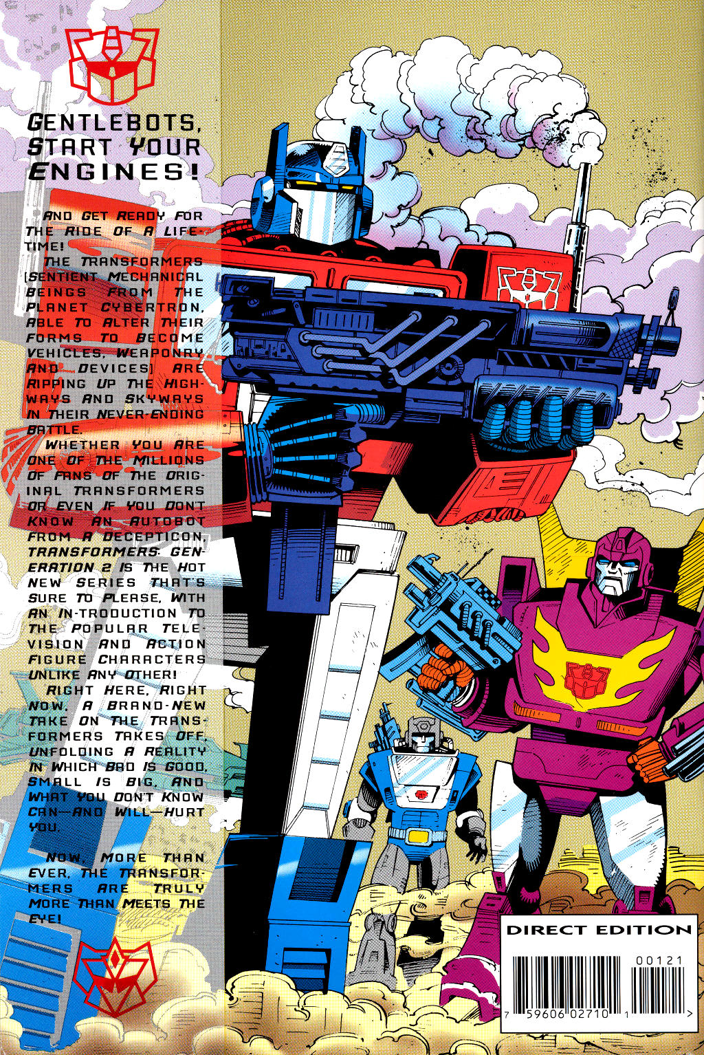 Read online Transformers: Generation 2 comic -  Issue #1 - 37