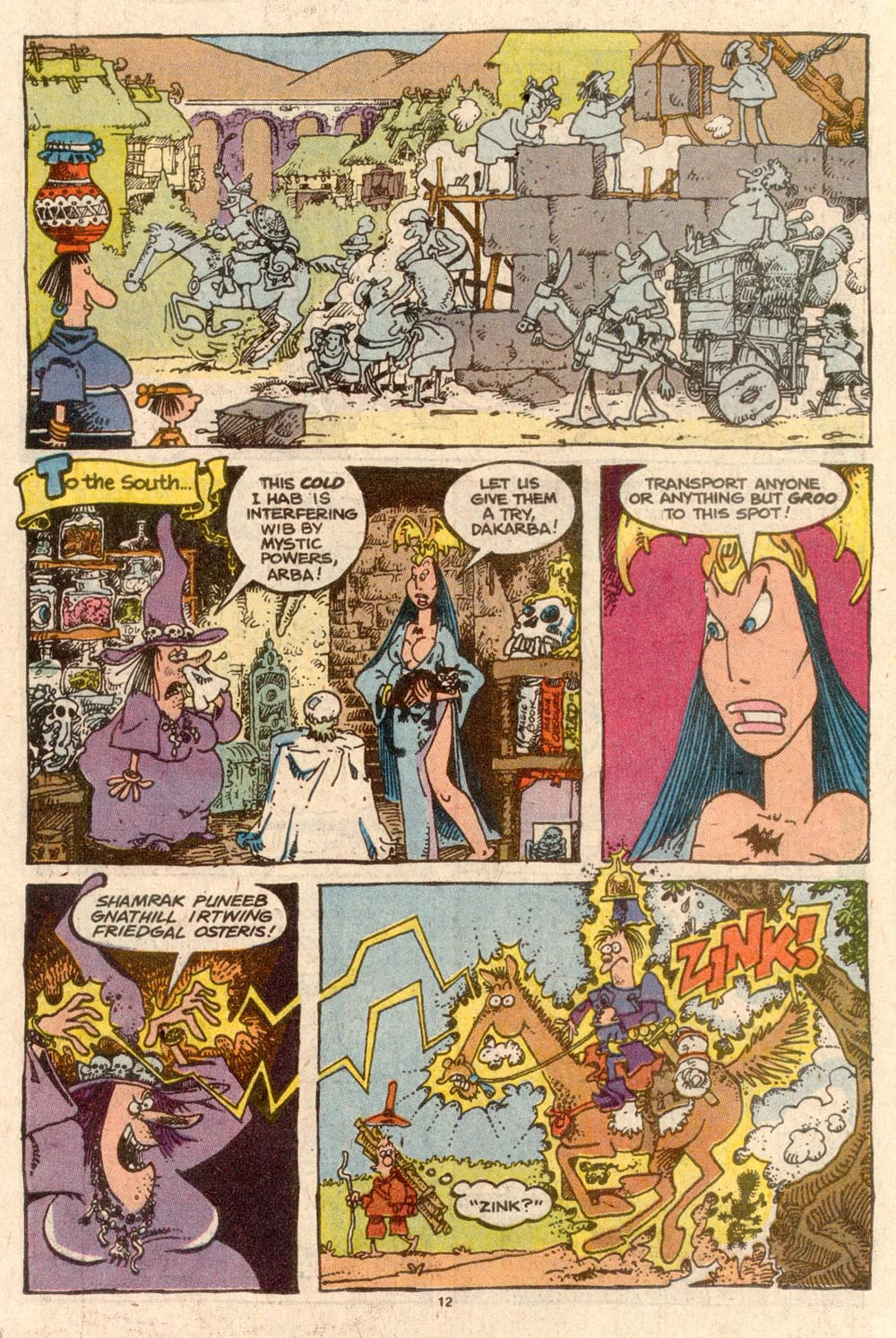 Read online Sergio Aragonés Groo the Wanderer comic -  Issue #59 - 12
