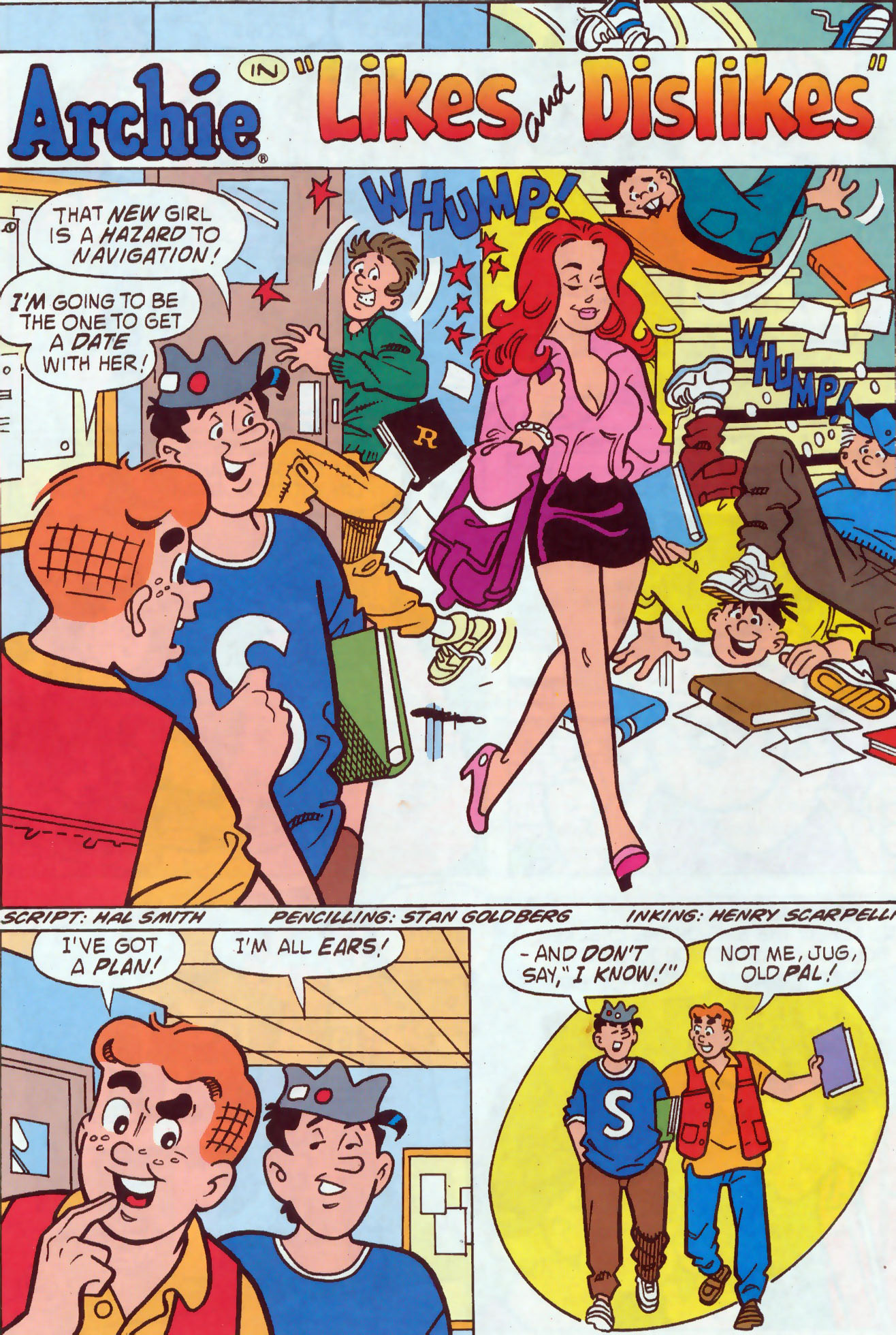 Read online Archie (1960) comic -  Issue #437 - 9