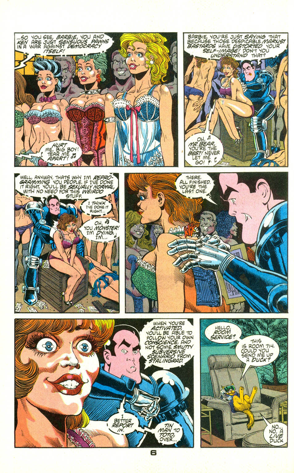 Read online American Flagg! comic -  Issue #22 - 28