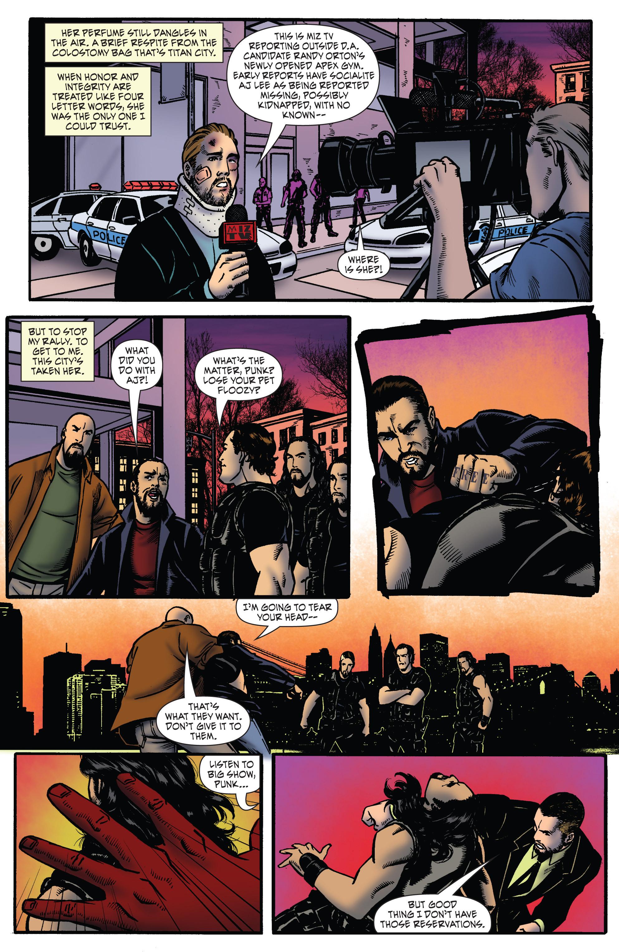 Read online WWE Superstars comic -  Issue #2 - 8