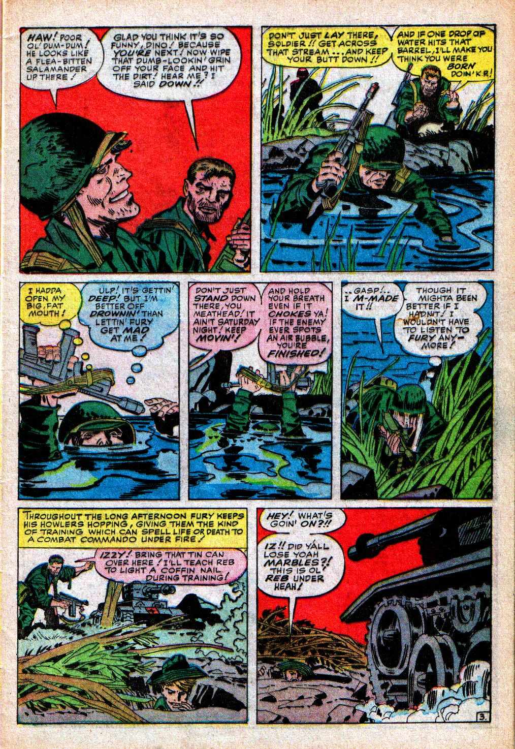 Read online Sgt. Fury comic -  Issue #5 - 5