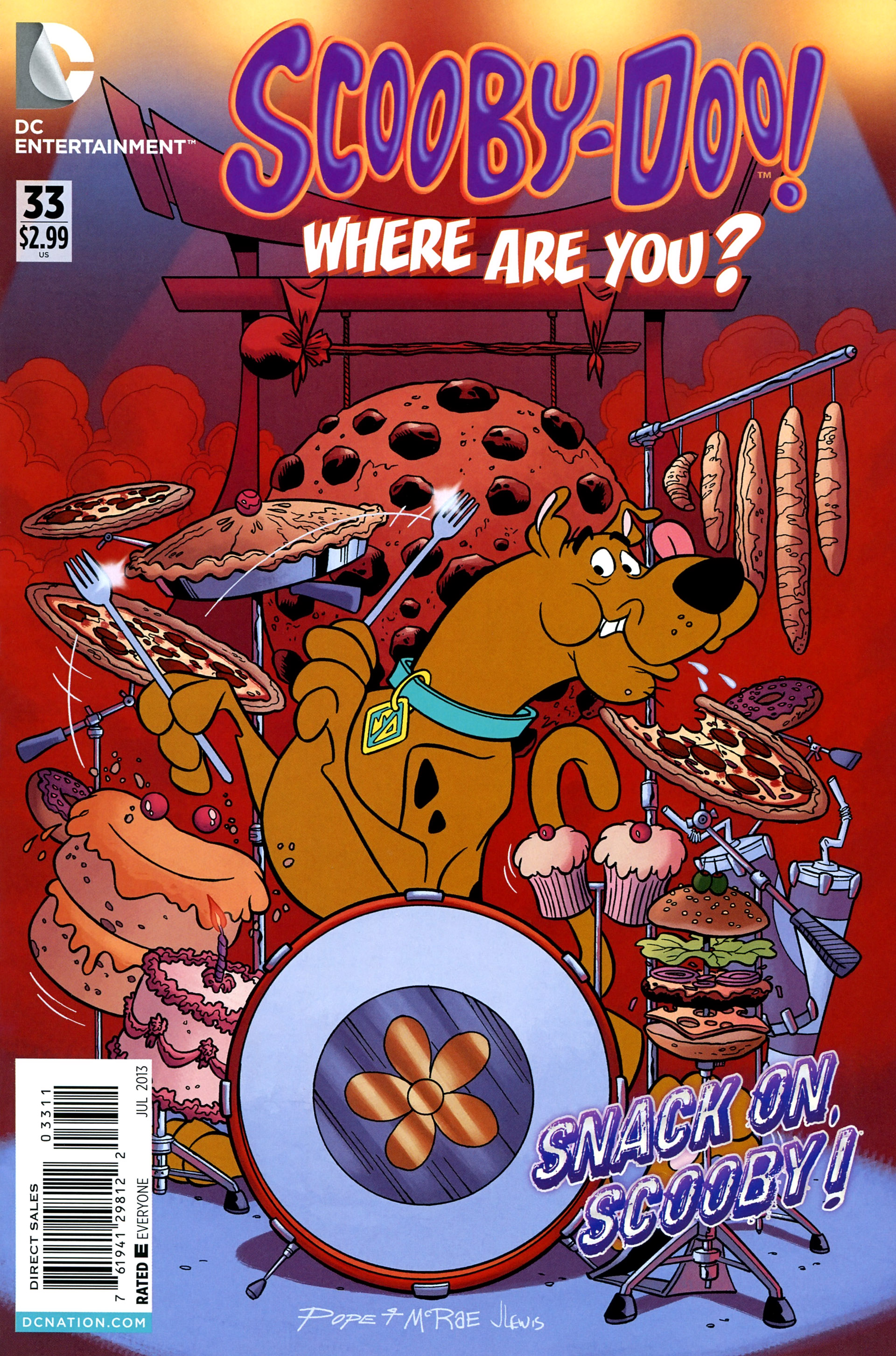 Read online Scooby-Doo: Where Are You? comic -  Issue #33 - 1