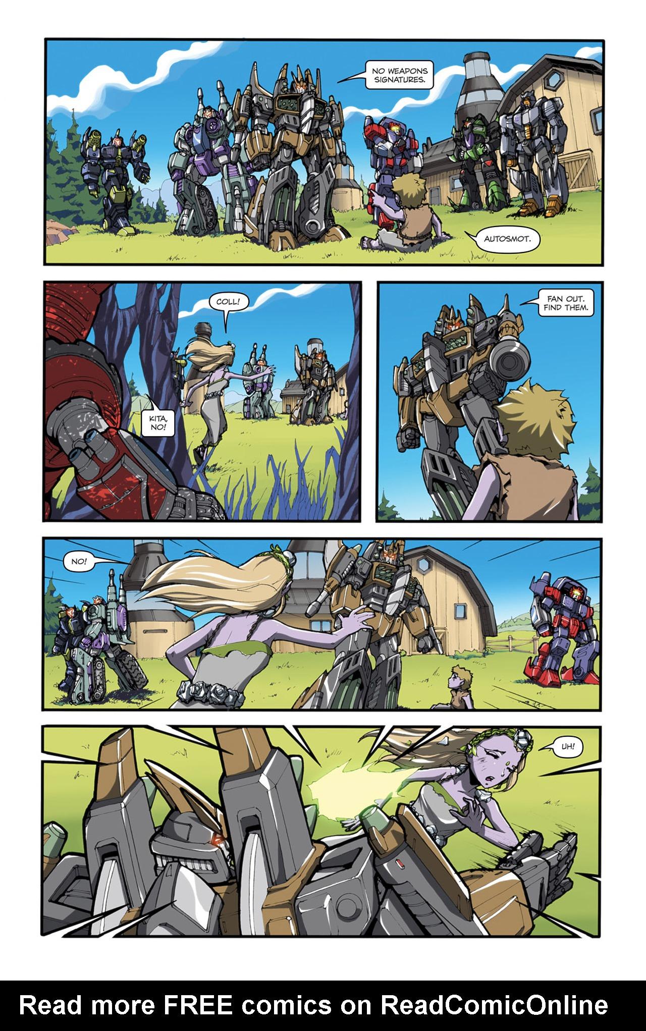 Read online Transformers Spotlight: Cliffjumper comic -  Issue # Full - 15