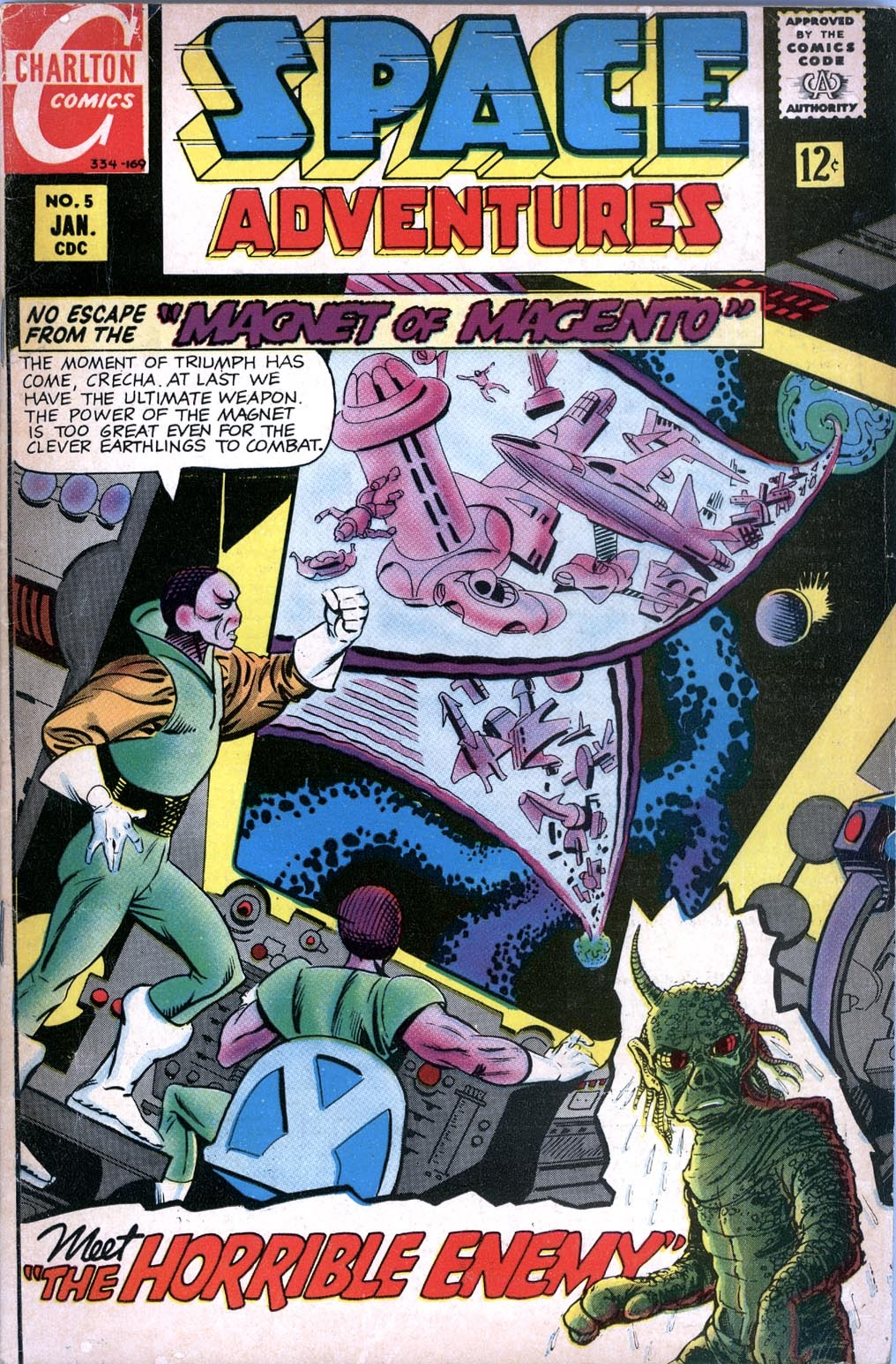 Space Adventures (1968) issue 5 - Page 1