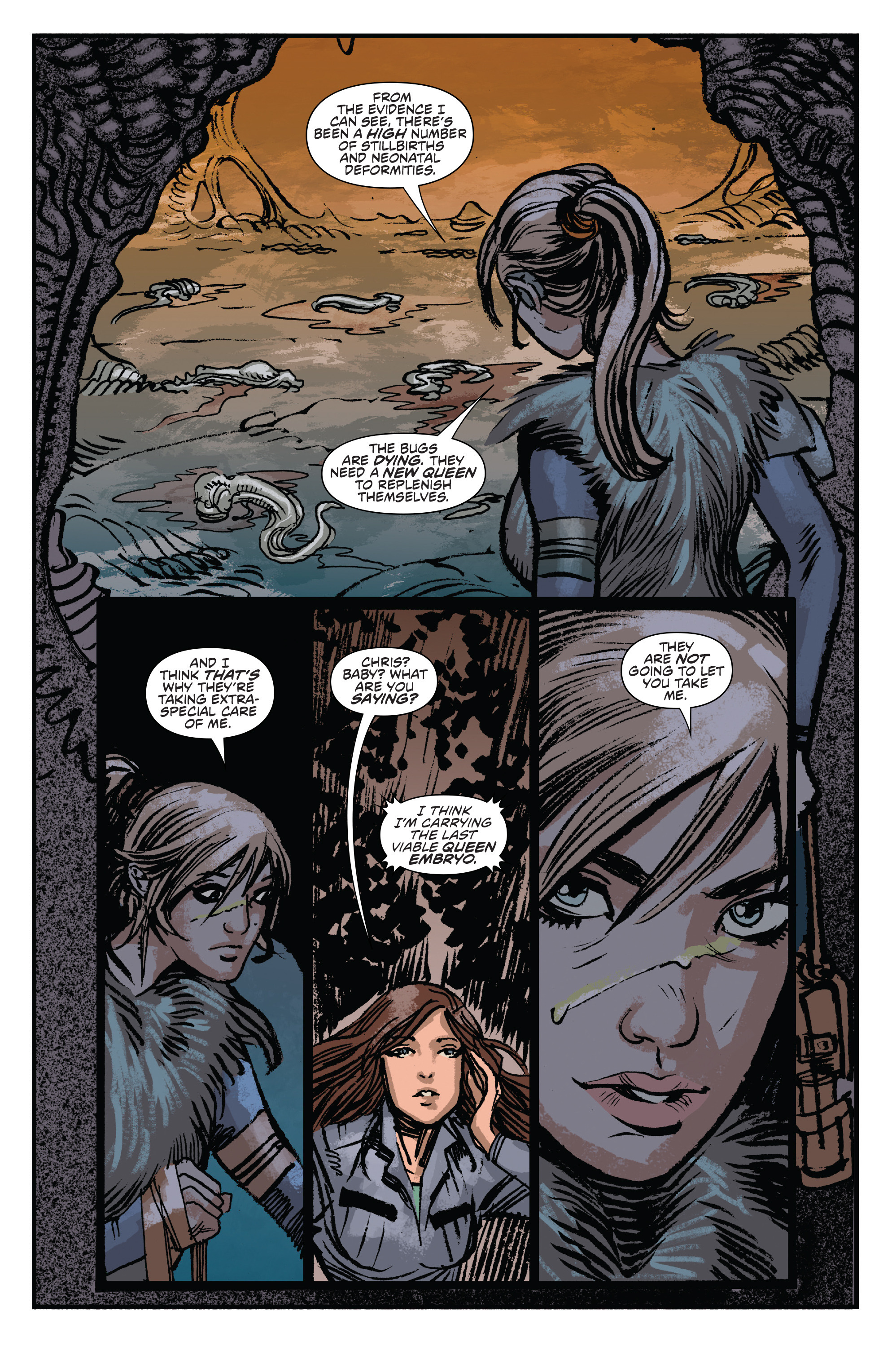 Read online Aliens: Life And Death comic -  Issue #3 - 16