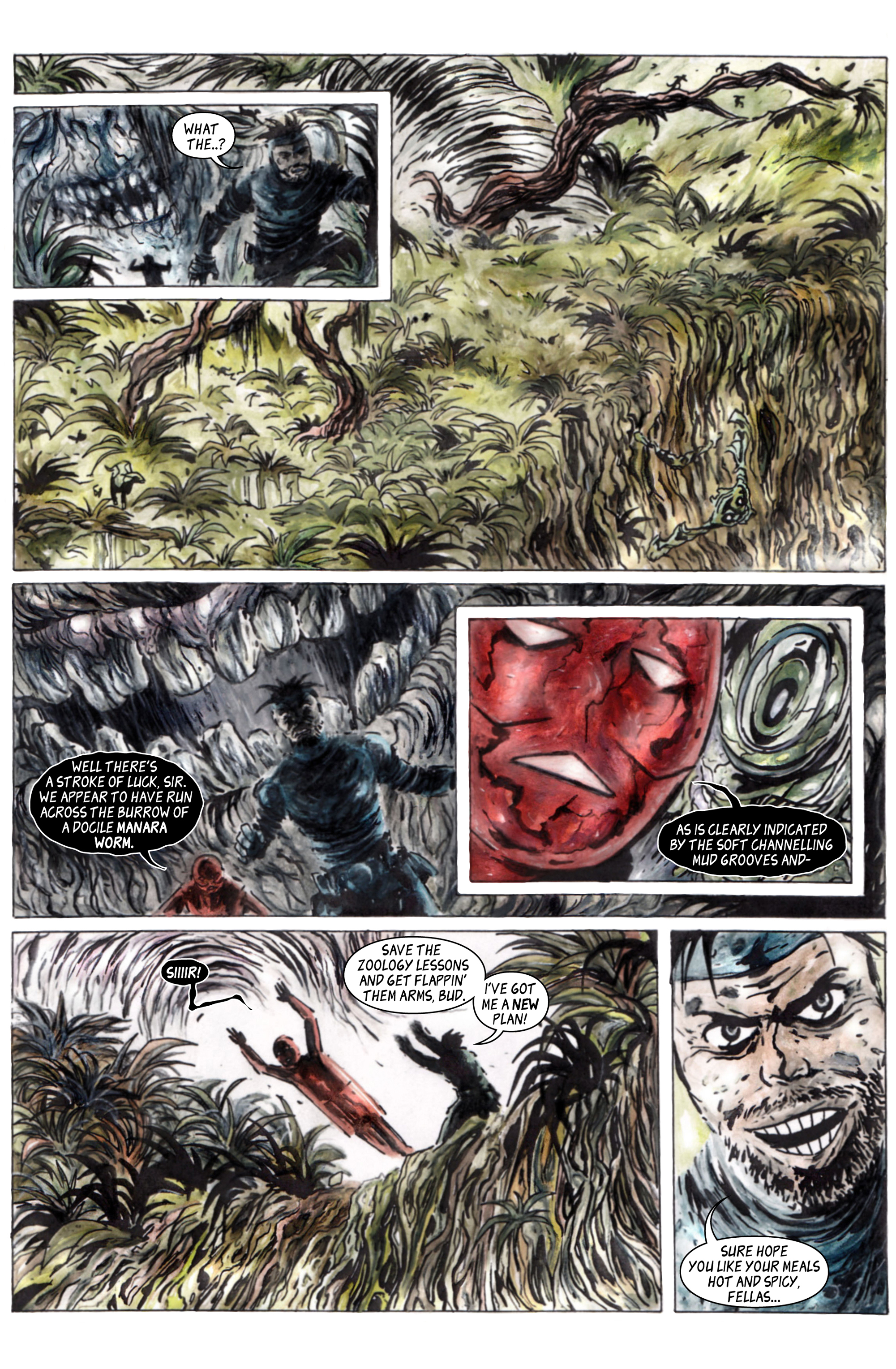 Read online 100% Biodegradable comic -  Issue #15 - 25