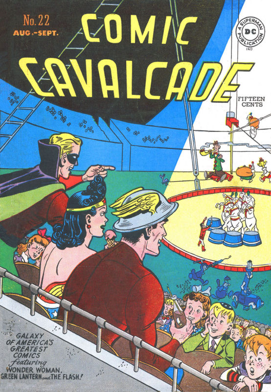 Comic Cavalcade issue 22 - Page 1