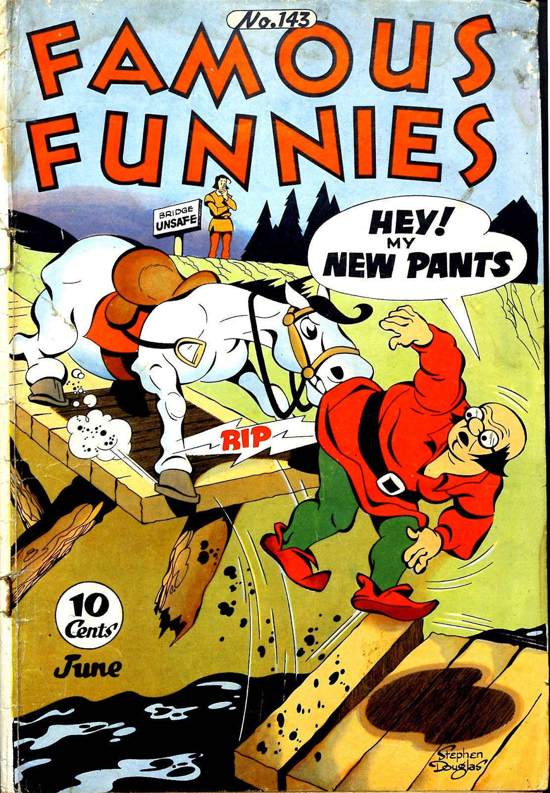 Read online Famous Funnies comic -  Issue #143 - 1