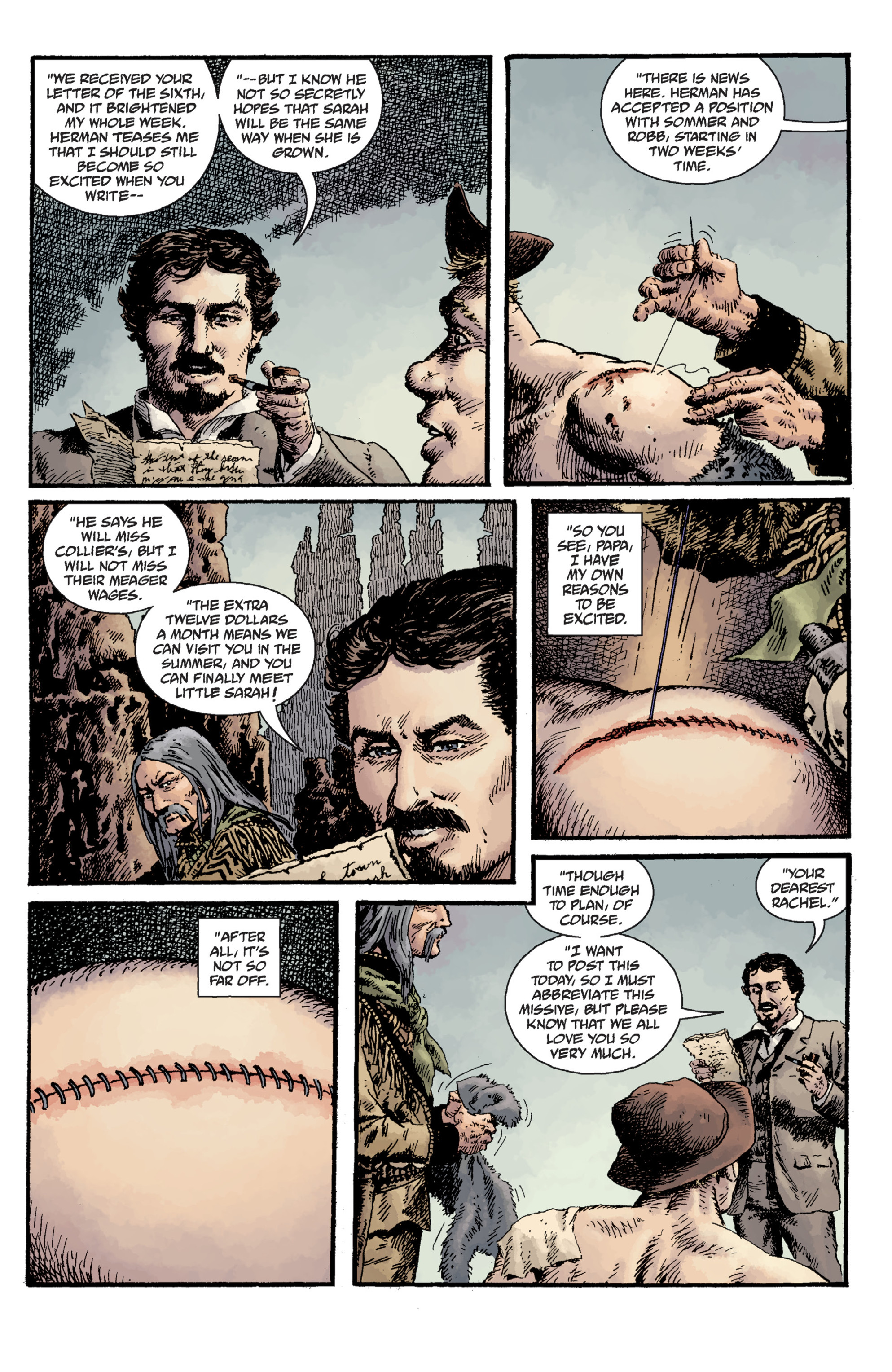 Read online Sir Edward Grey, Witchfinder: Lost and Gone Forever comic -  Issue # TPB - 70
