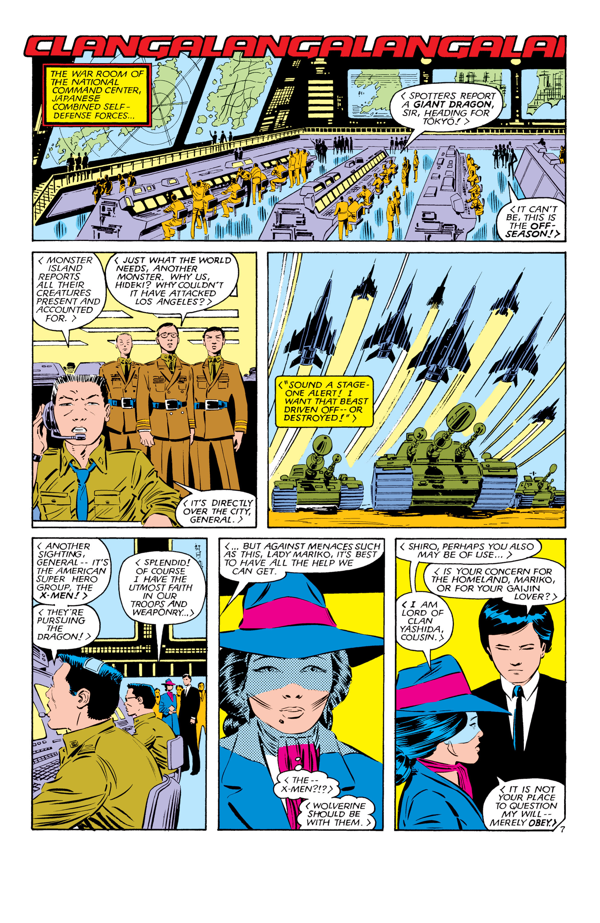 Read online Uncanny X-Men (1963) comic -  Issue #181 - 7