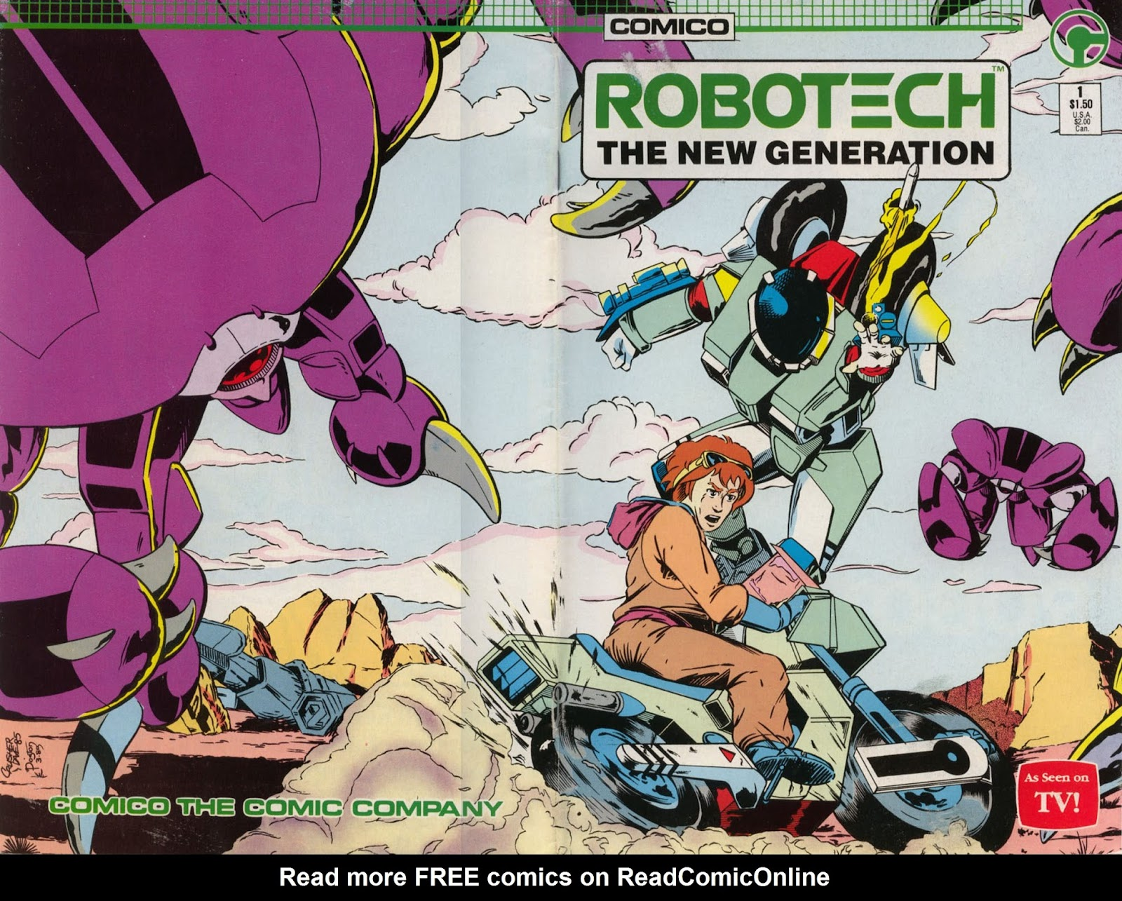Robotech The New Generation issue 1 - Page 1