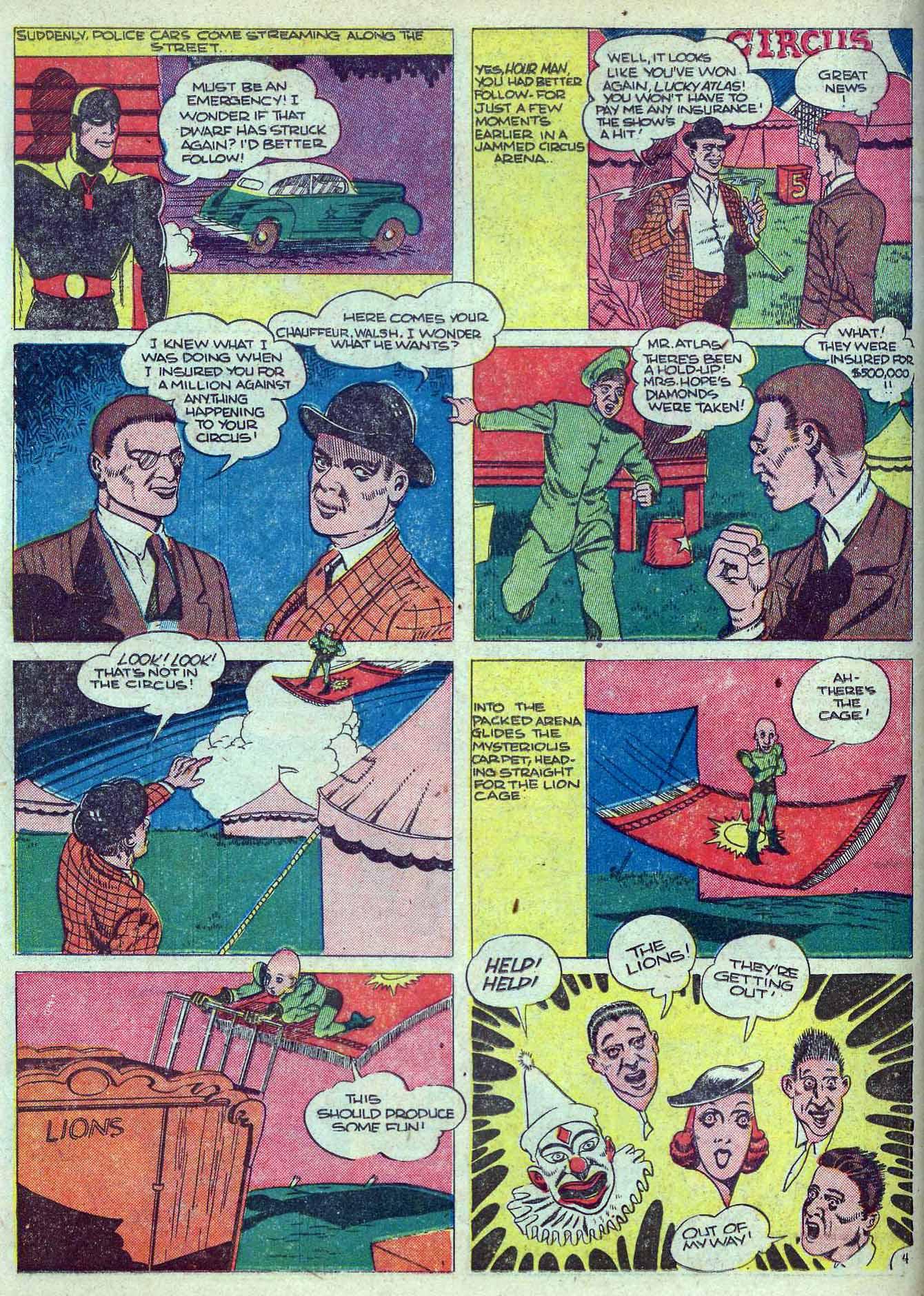 Read online Adventure Comics (1938) comic -  Issue #70 - 34