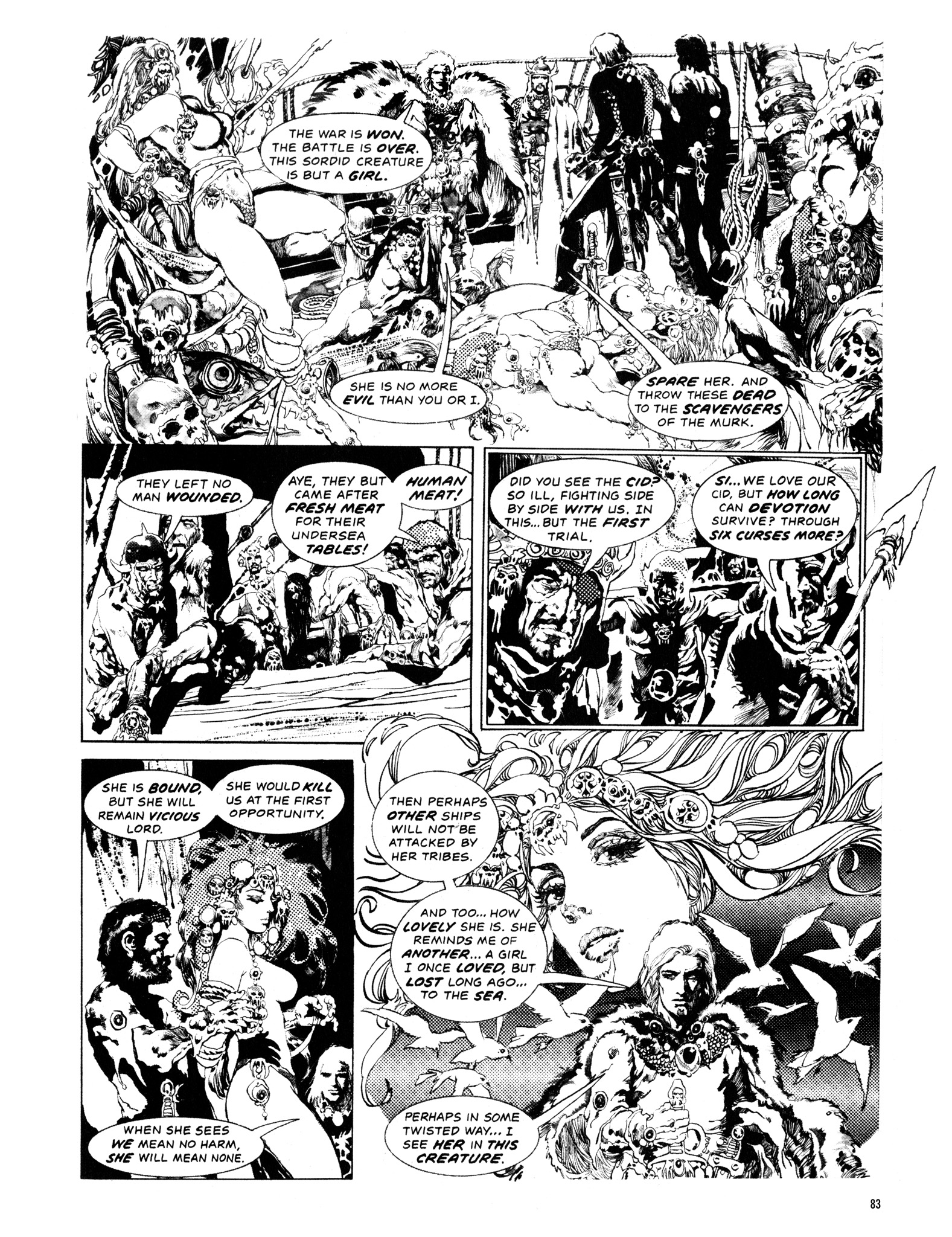 Read online Eerie Archives comic -  Issue # TPB 14 - 84