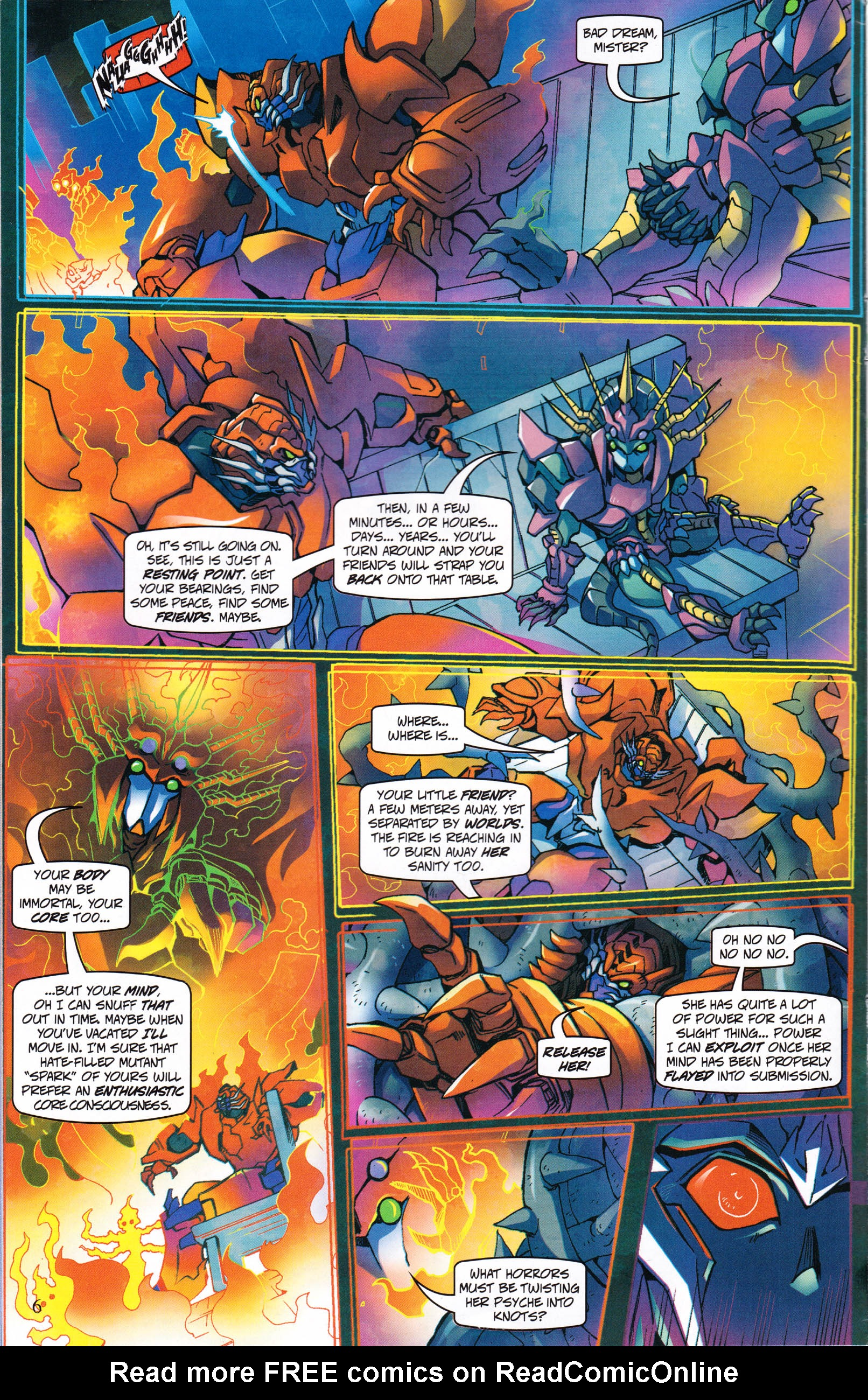Read online Transformers: Collectors' Club comic -  Issue #60 - 6
