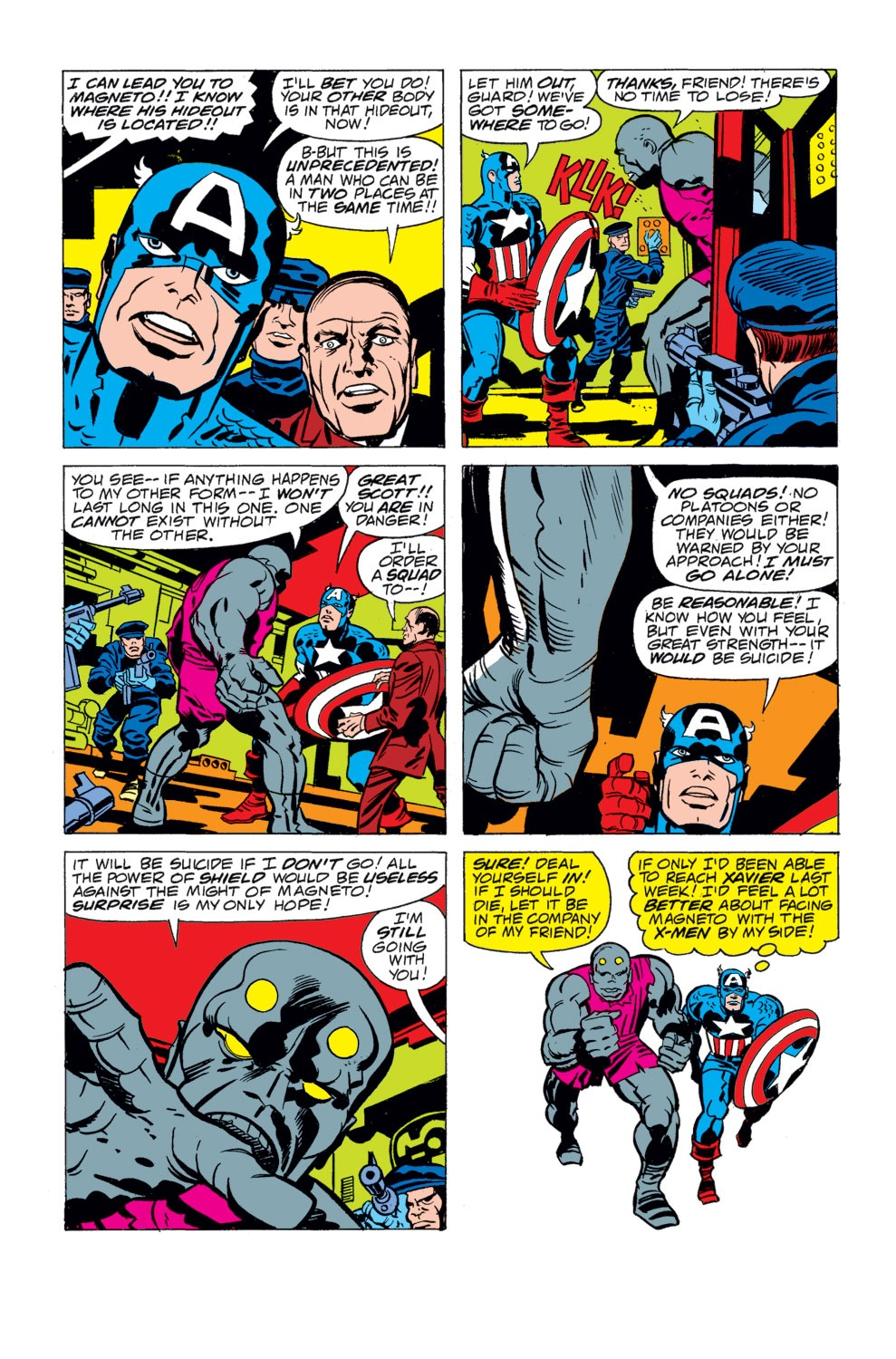 Read online Captain America (1968) comic -  Issue # _Annual 4 - 25