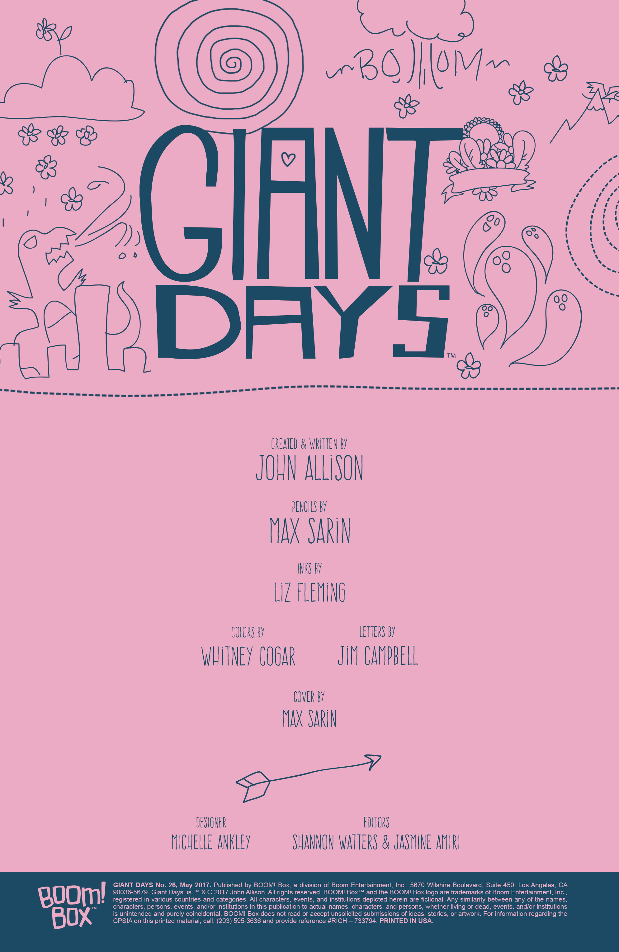 Read online Giant Days (2015) comic -  Issue #26 - 2