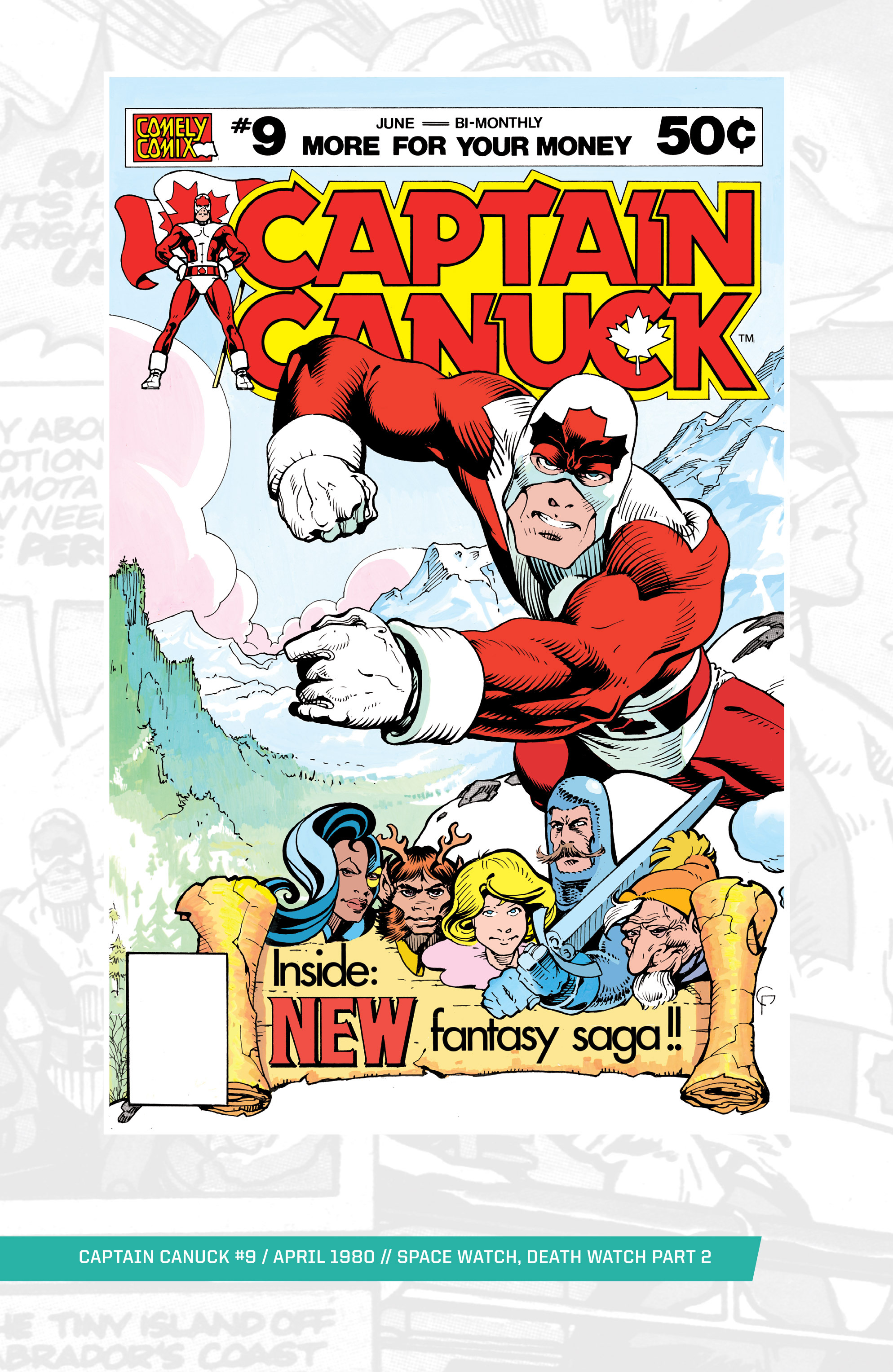 Captain Canuck (1975) 9 Page 1