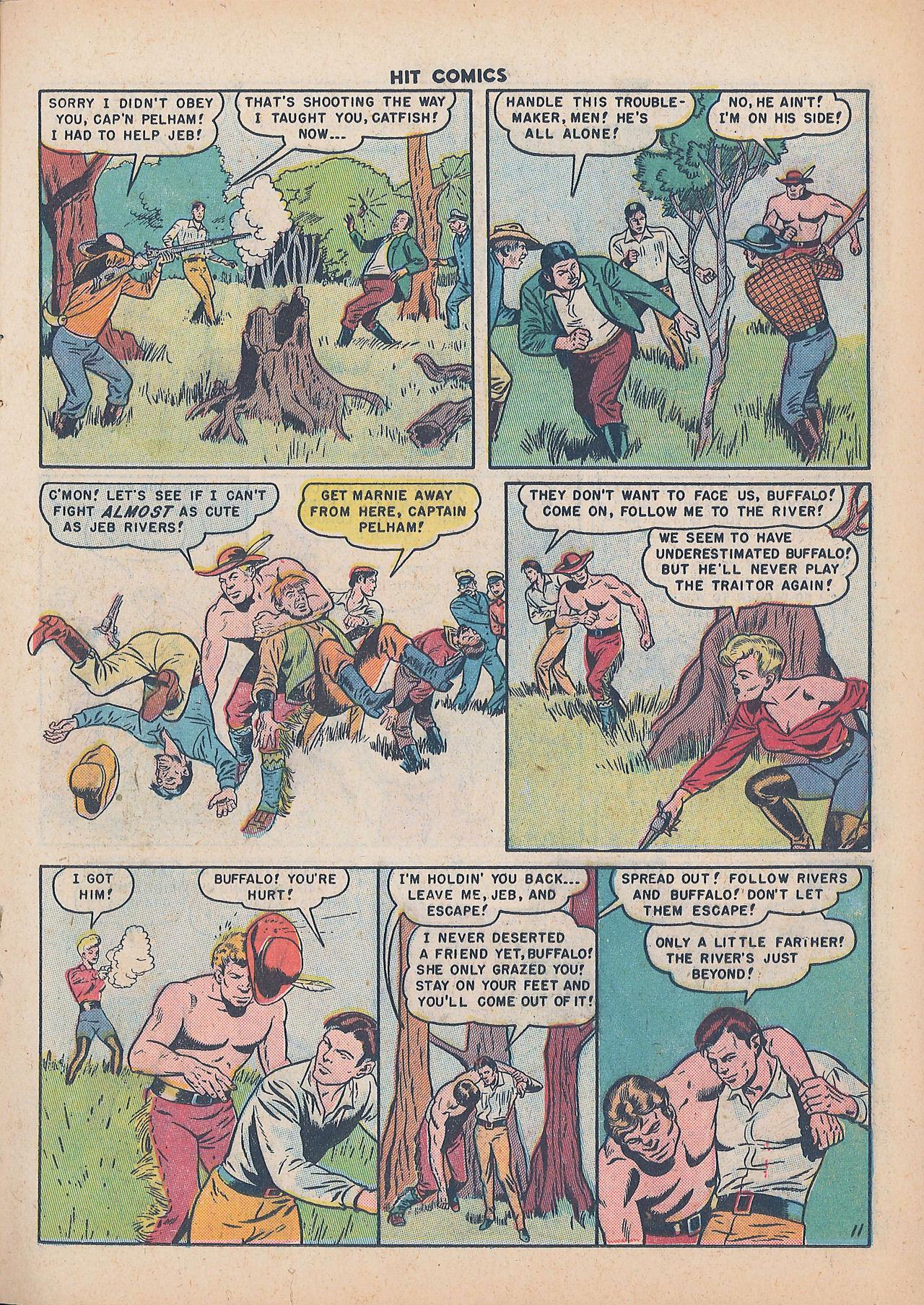 Read online Hit Comics comic -  Issue #64 - 13
