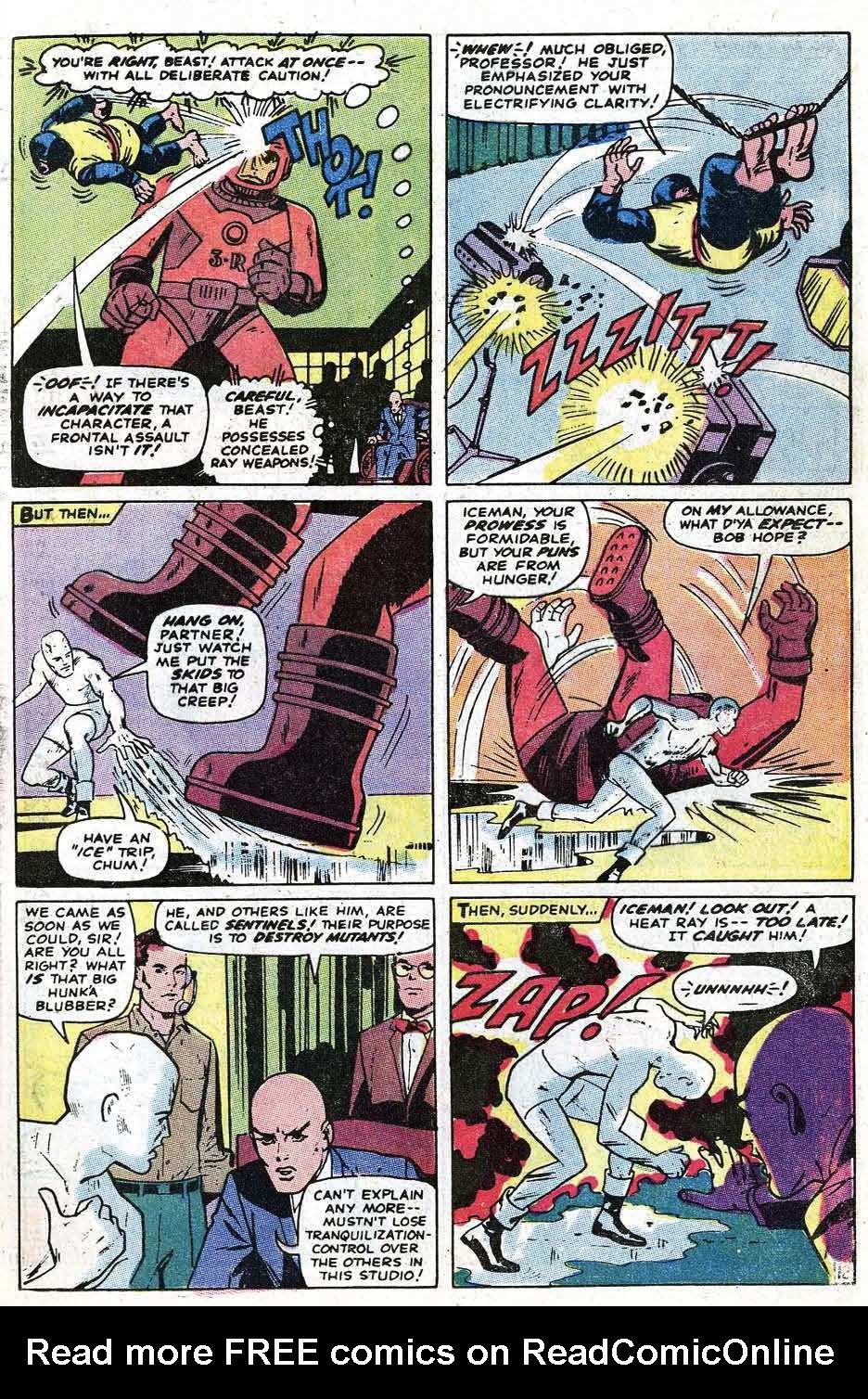 Uncanny X-Men (1963) 68 Page 14