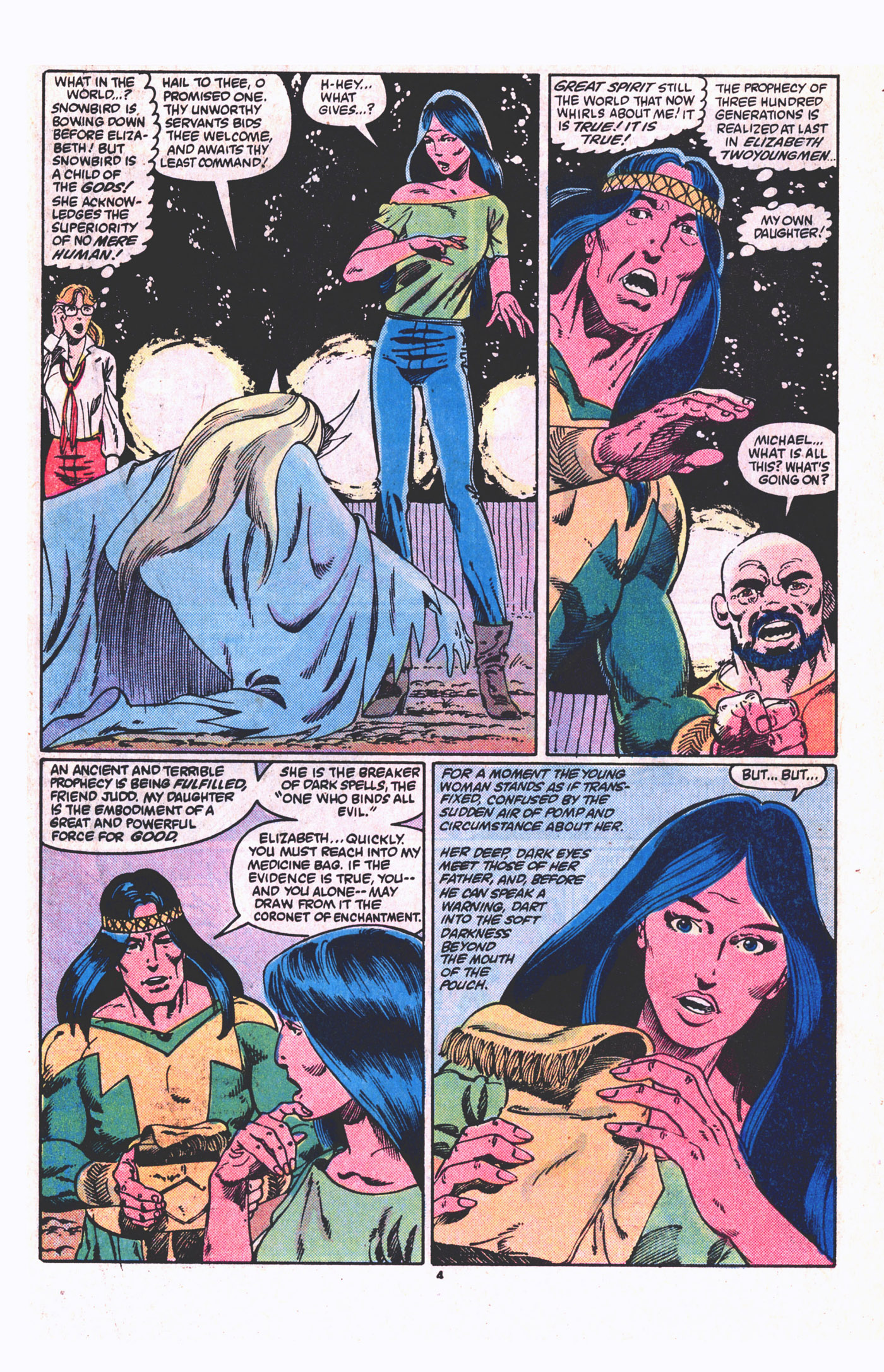 Read online Alpha Flight (1983) comic -  Issue #19 - 5