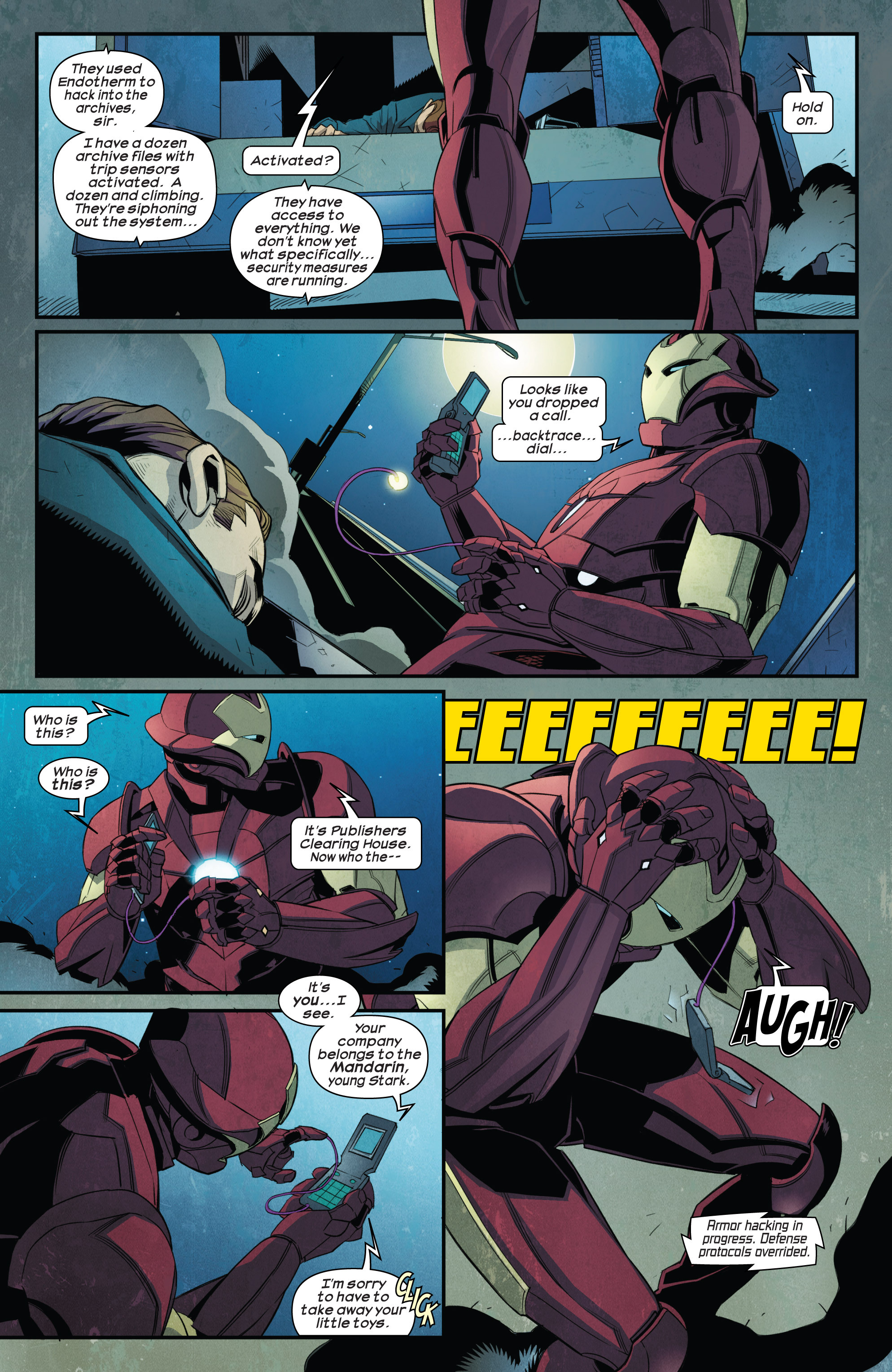 Read online Ultimate Comics Iron Man comic -  Issue #1 - 20