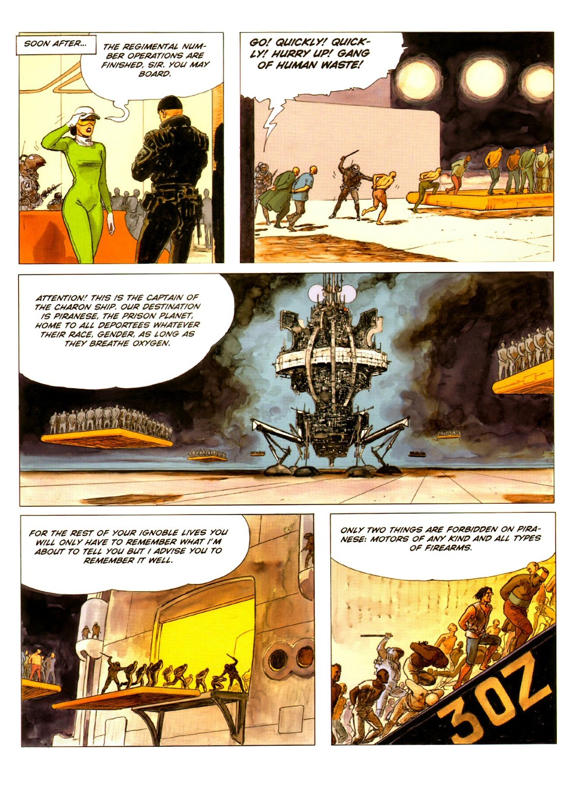 Read online Piranese The Prison Planet comic -  Issue # Full - 12