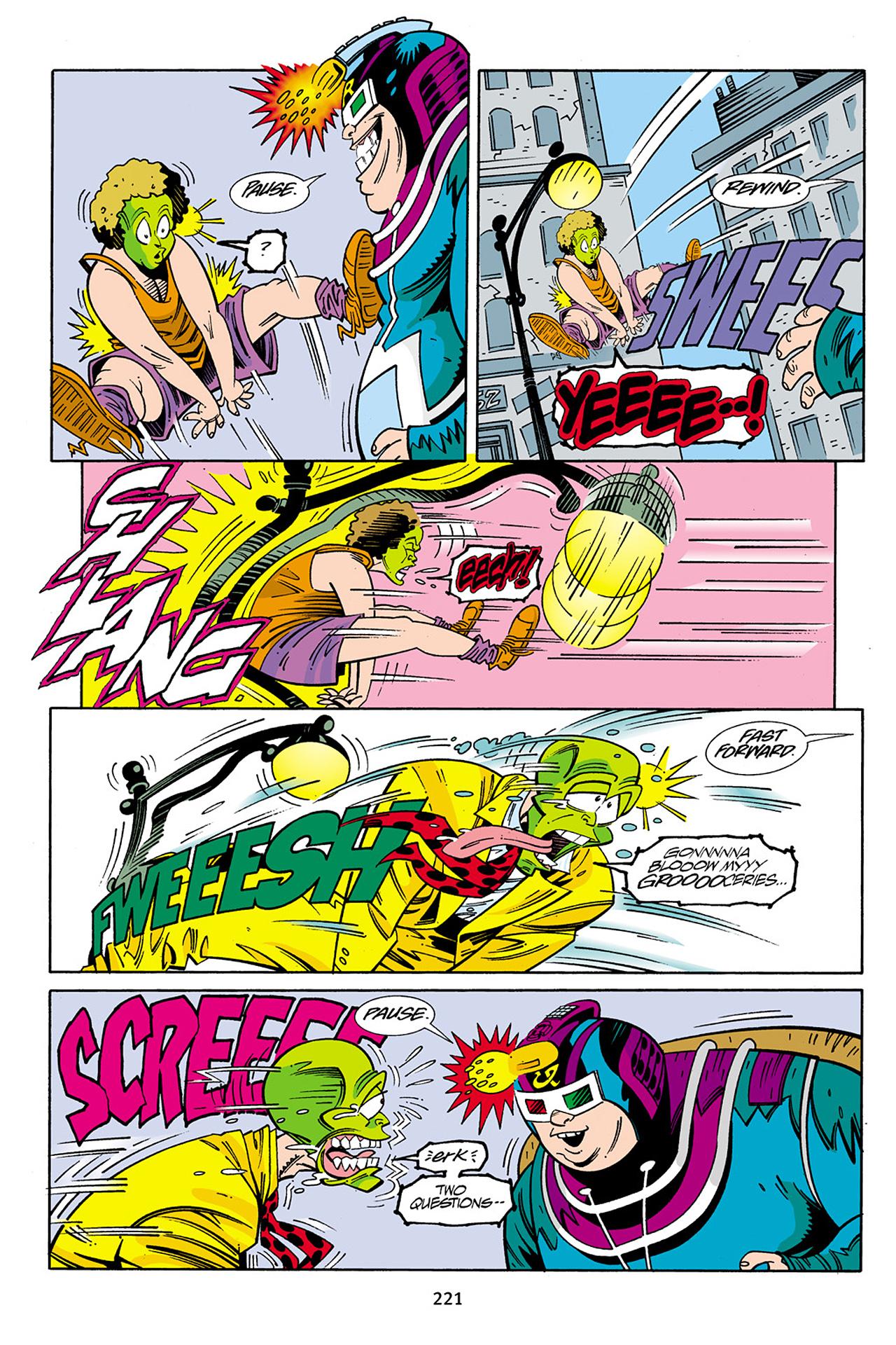 Read online Adventures Of The Mask Omnibus comic -  Issue #Adventures Of The Mask Omnibus Full - 220