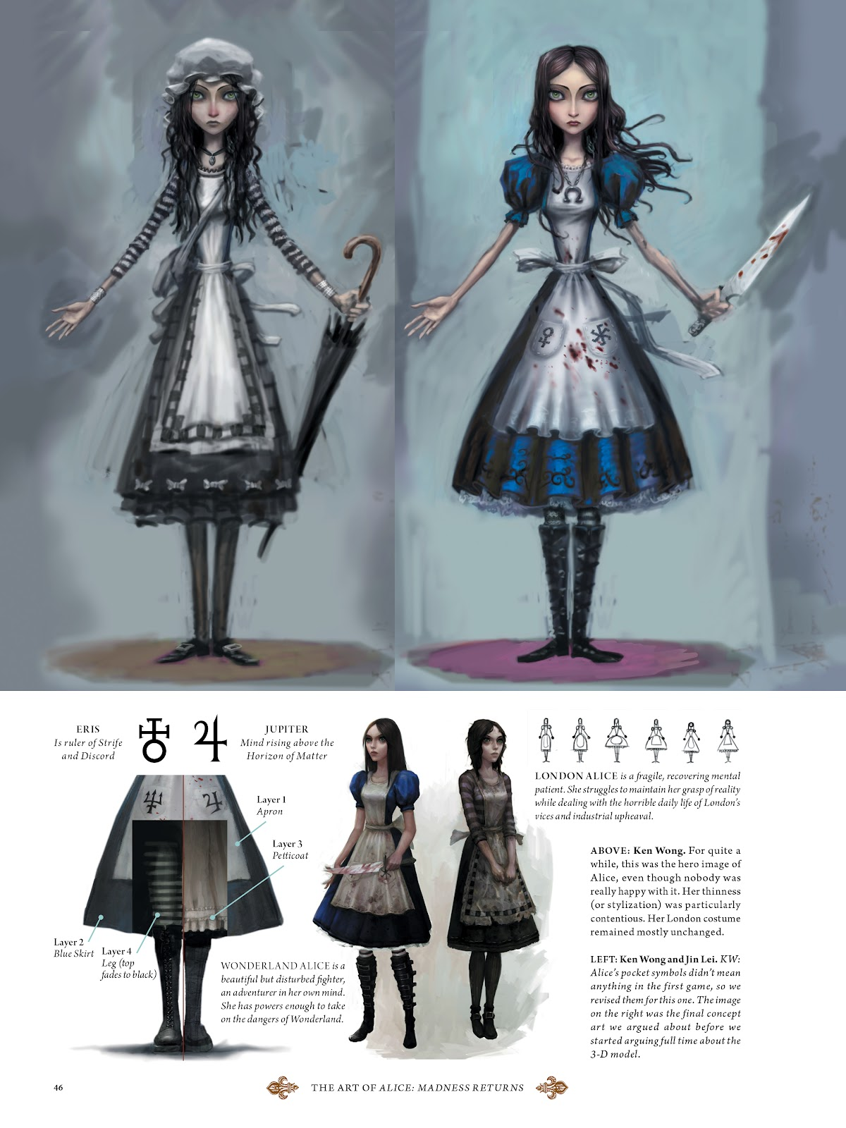 Read online The Art of Alice: Madness Returns comic -  Issue # TPB (Part 1) - 43