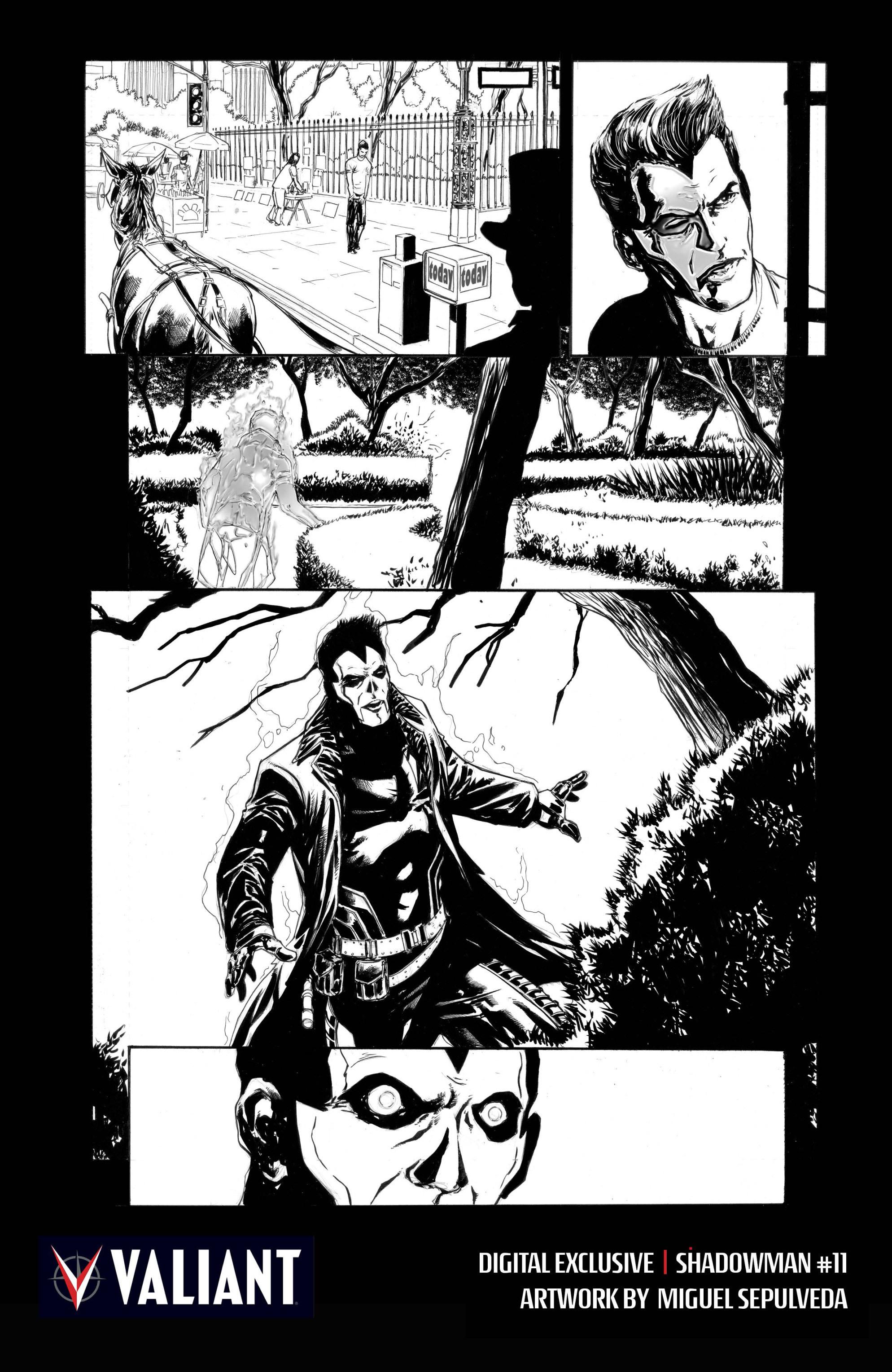 Read online Shadowman (2012) comic -  Issue #11 - 30