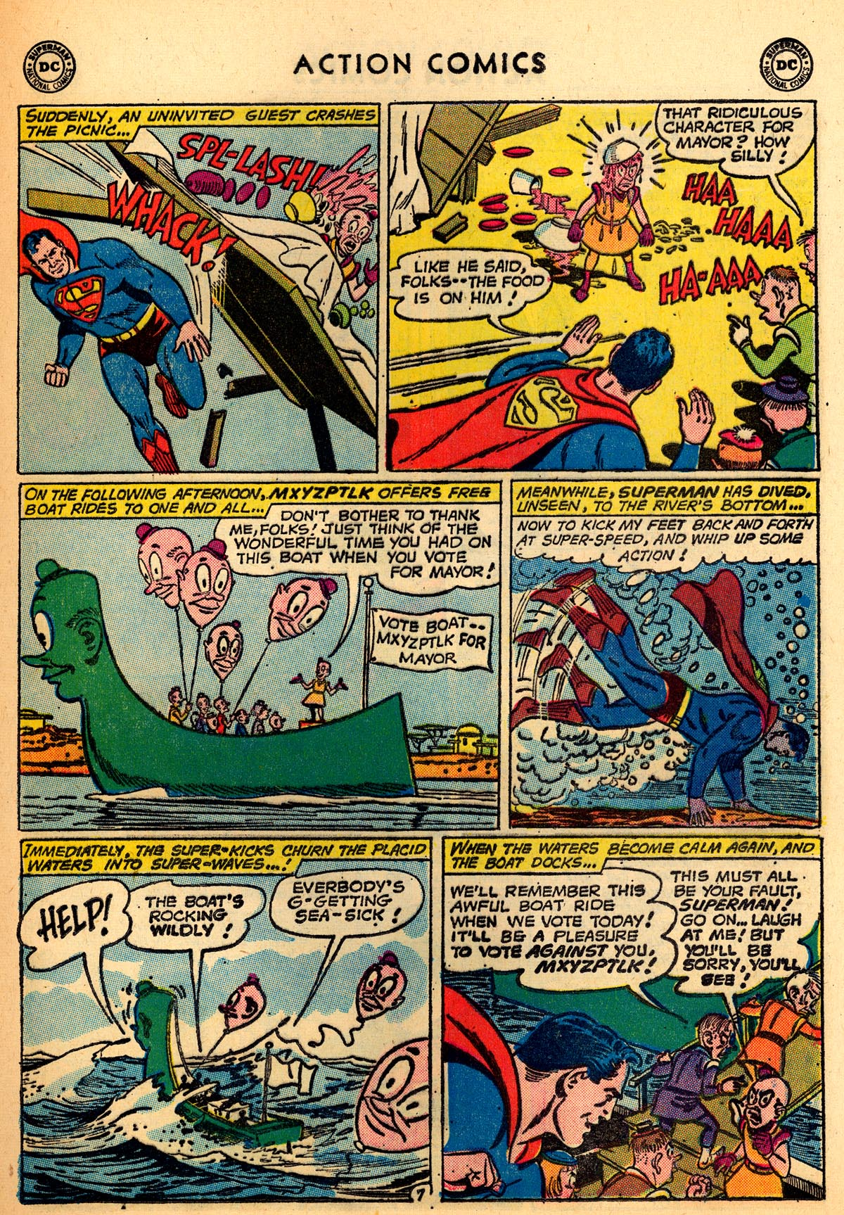 Read online Action Comics (1938) comic -  Issue #273 - 9