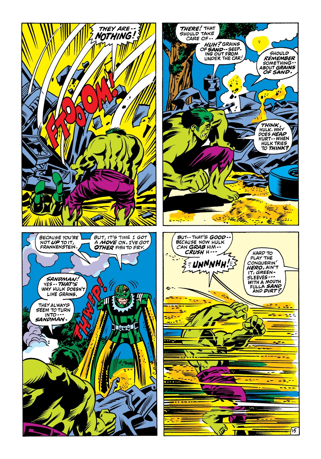 Read online Marvel Masterworks: The Incredible Hulk comic -  Issue # TPB 7 (Part 1) - 81