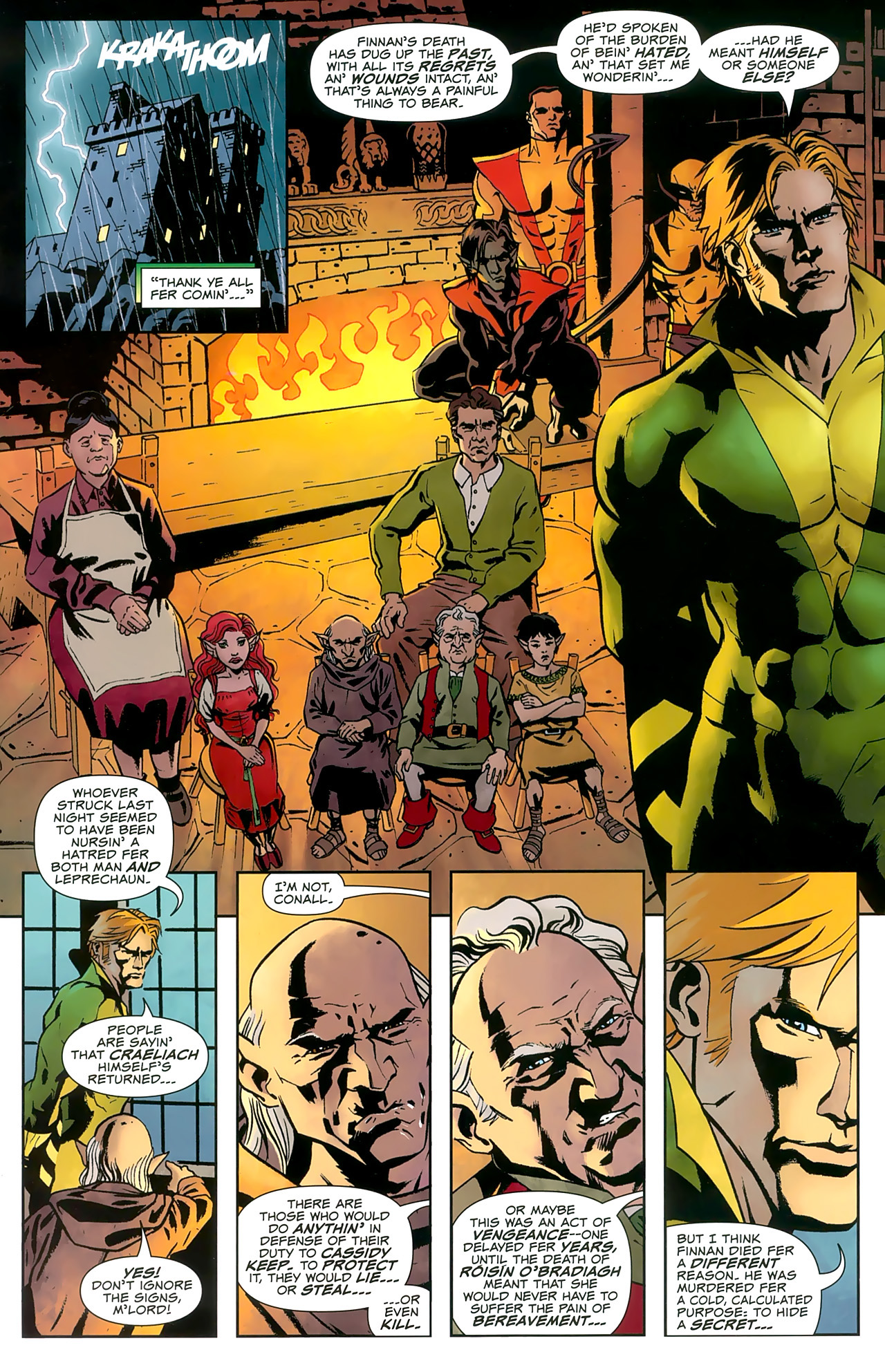 Read online Uncanny X-Men: First Class comic -  Issue #8 - 12