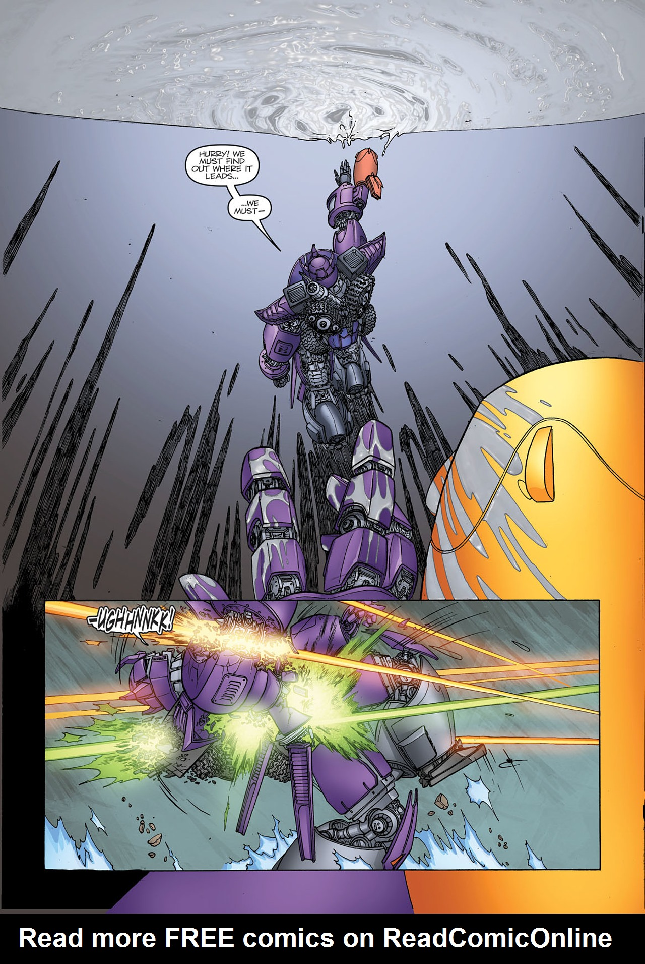 Read online Transformers: Heart of Darkness comic -  Issue #1 - 24