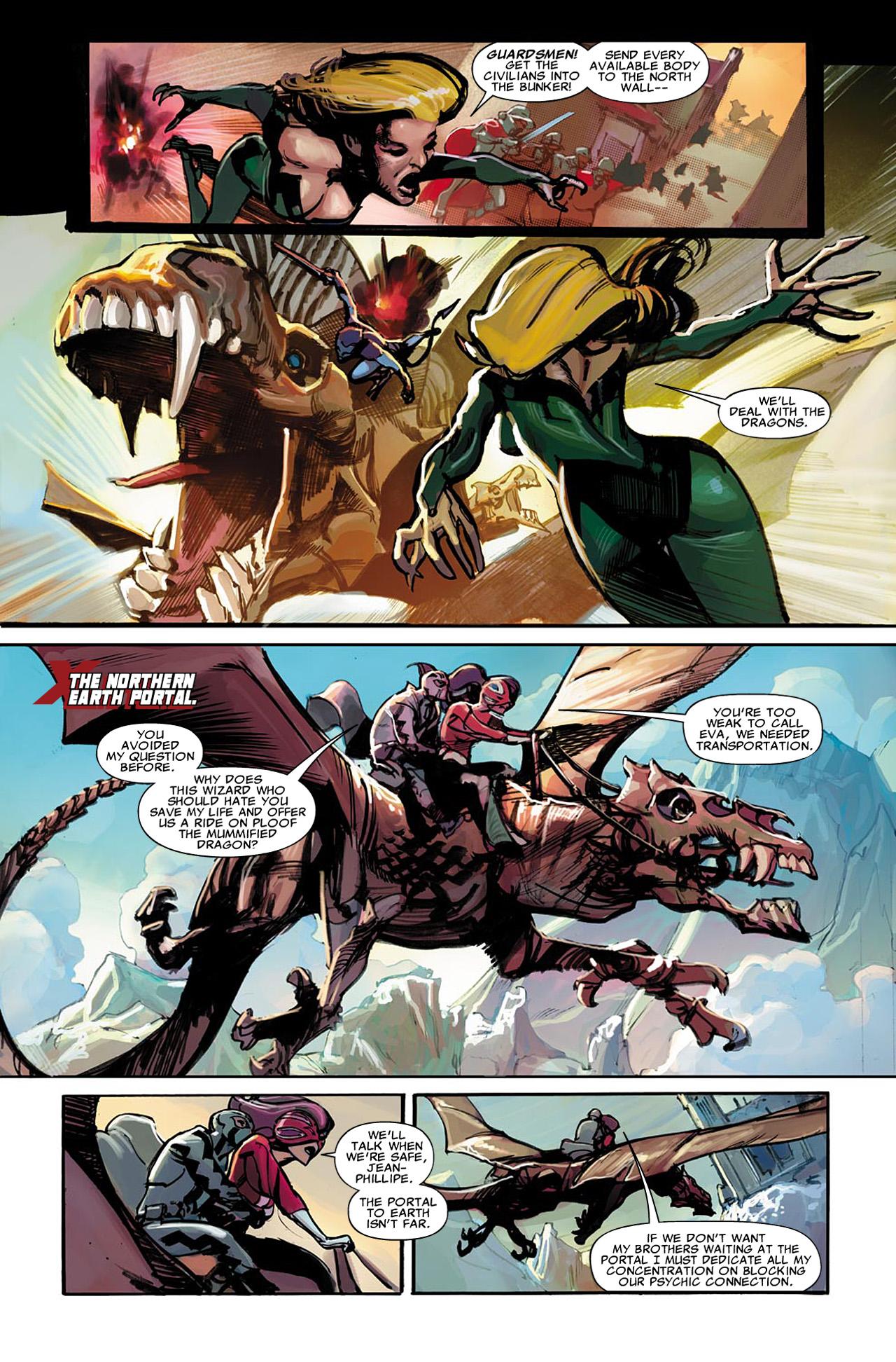 Uncanny X-Force (2010) #22 #24 - English 11