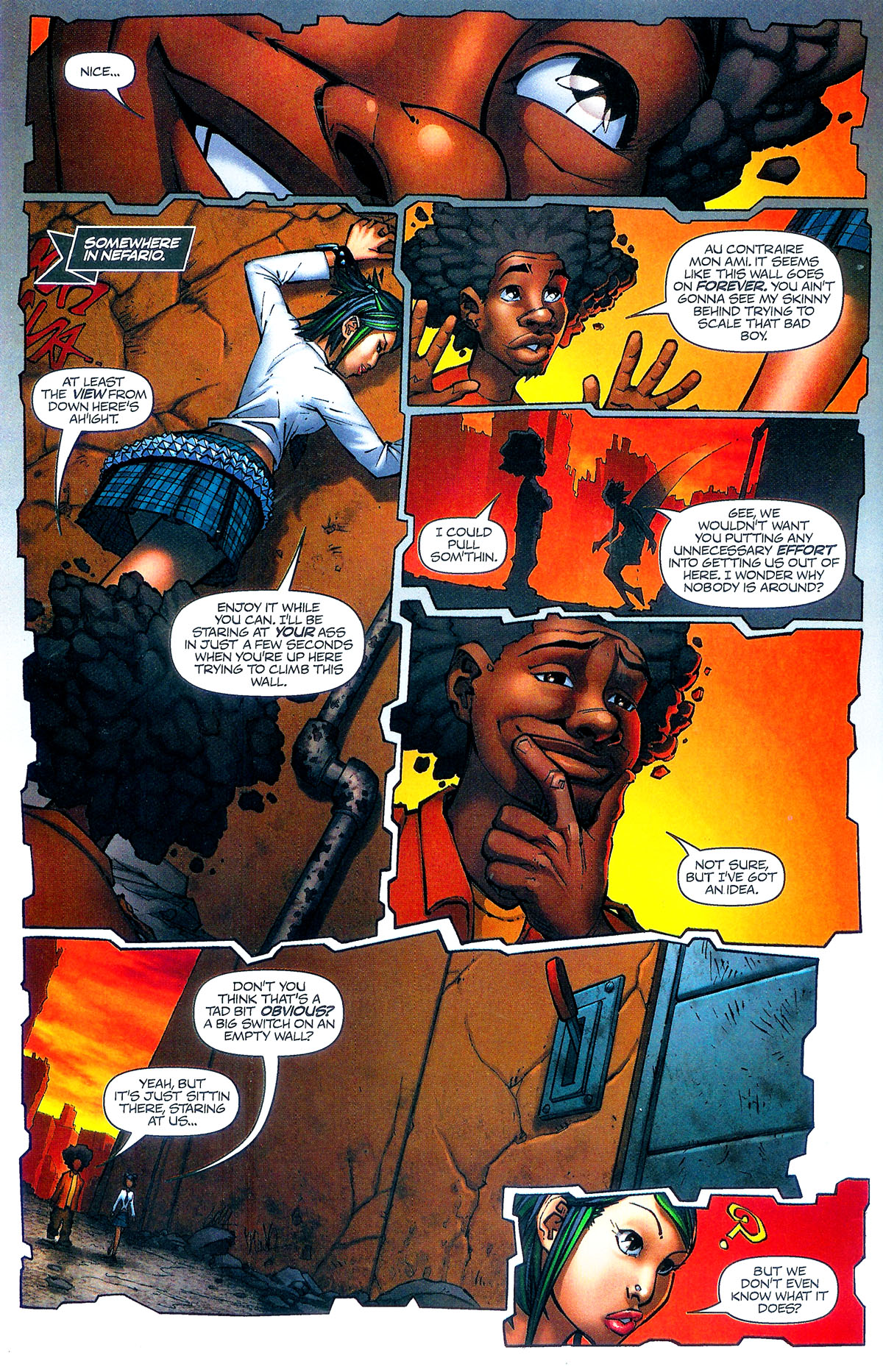 Read online Shrugged (2006) comic -  Issue #5 - 11