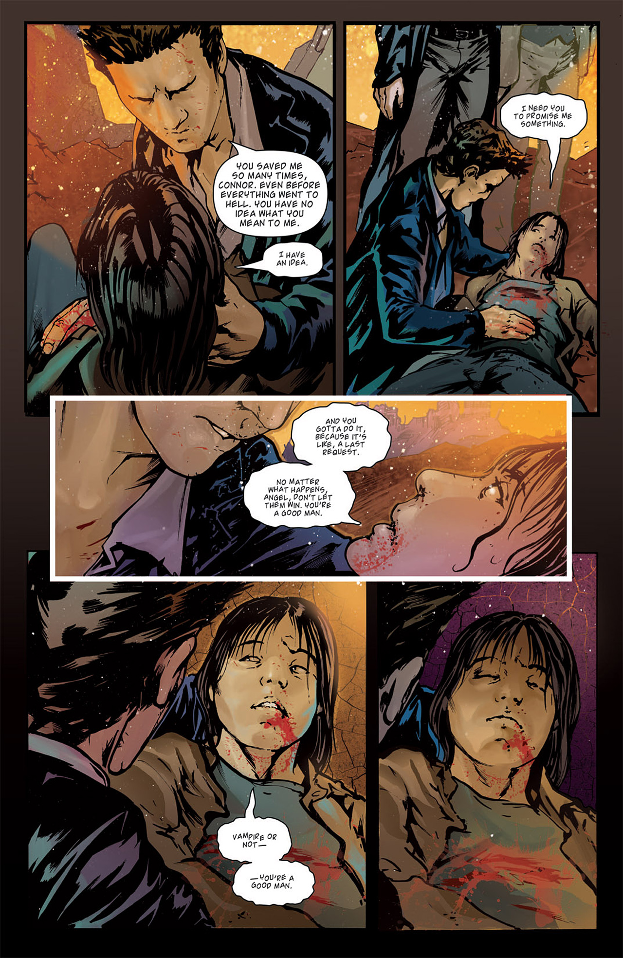 Read online Angel: After The Fall comic -  Issue #15 - 24