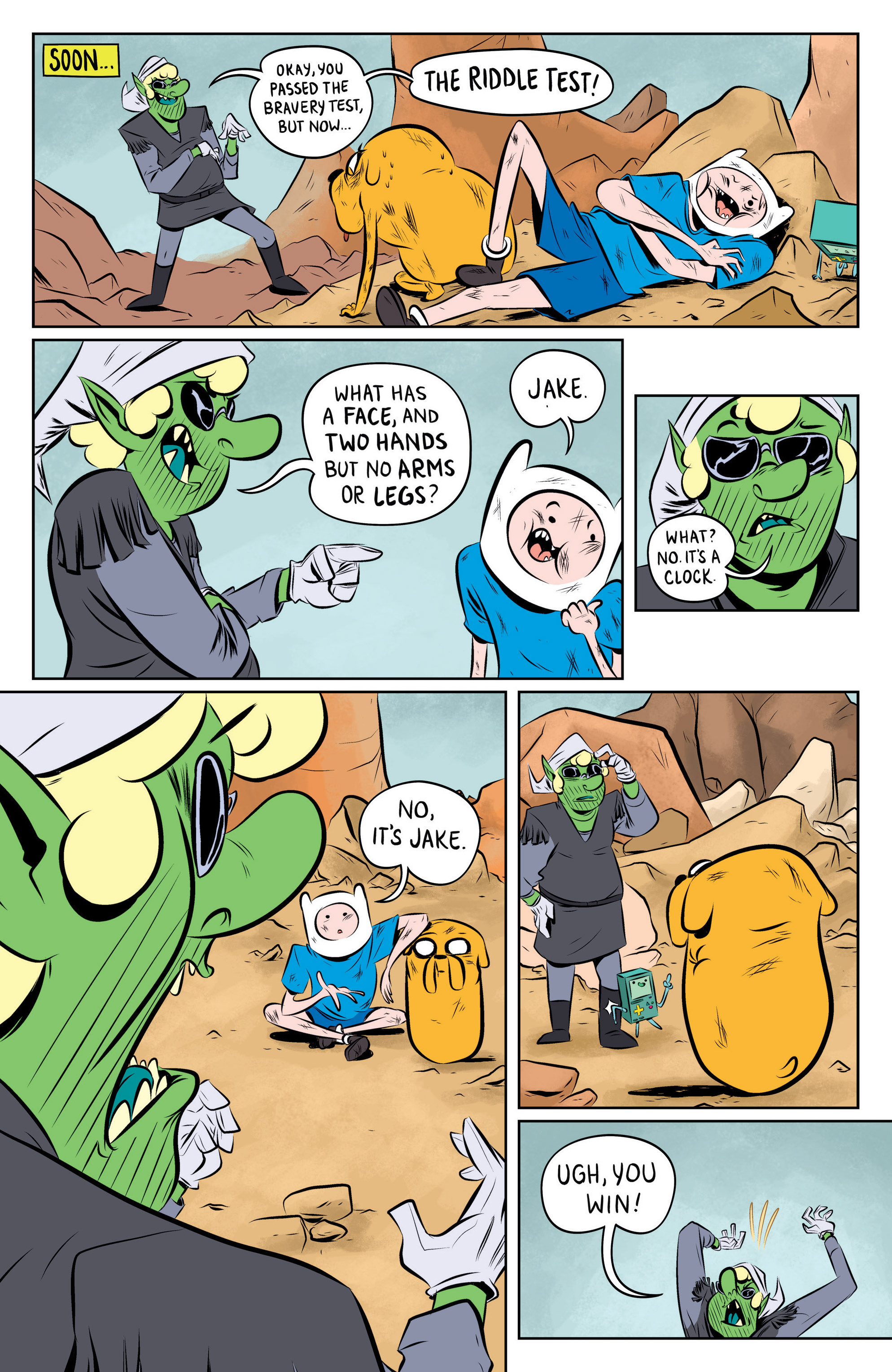 Read online Adventure Time: The Flip Side comic -  Issue #1 - 18