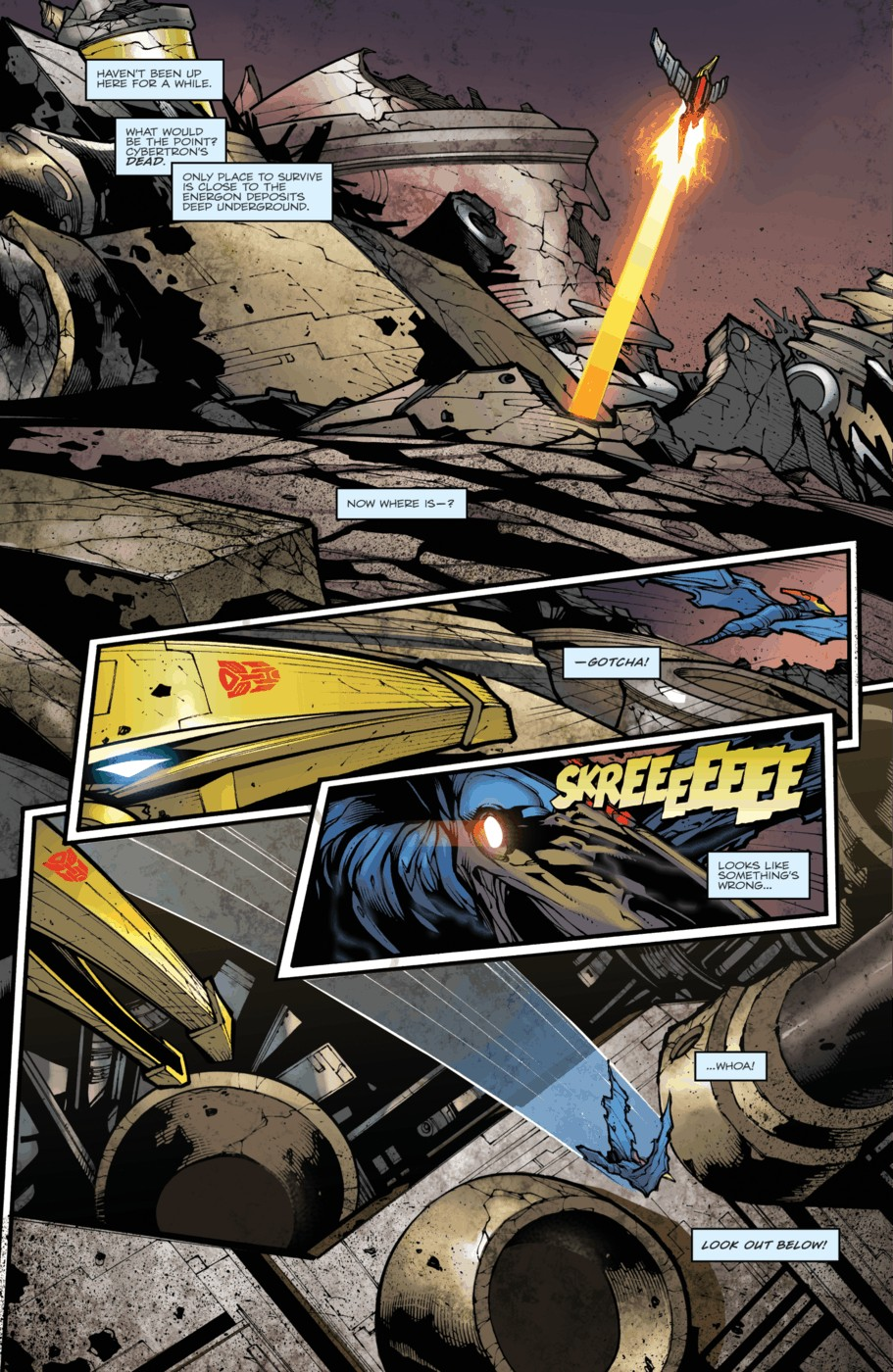 Read online Transformers Prime: Beast Hunters comic -  Issue #4 - 12