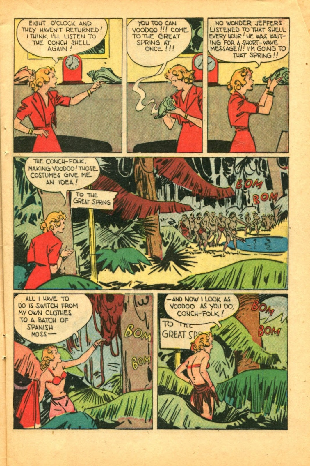 Read online Super-Magician Comics comic -  Issue #49 - 11