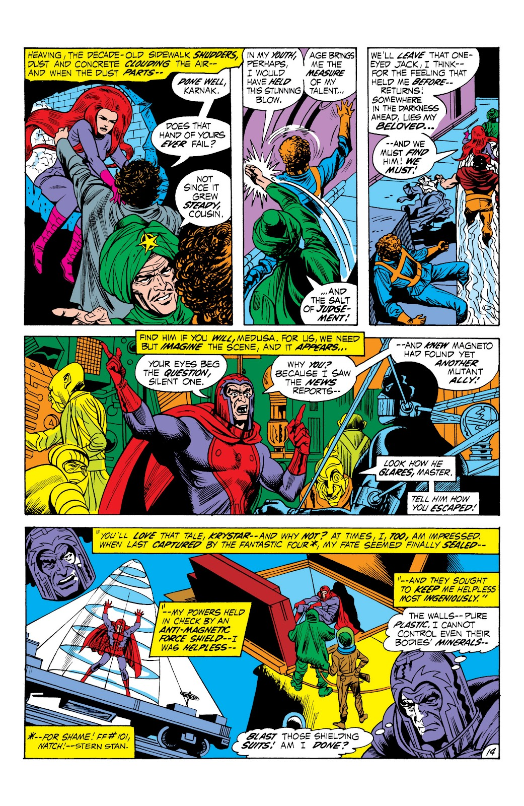 Read online Marvel Masterworks: The Inhumans comic -  Issue # TPB 1 (Part 2) - 71